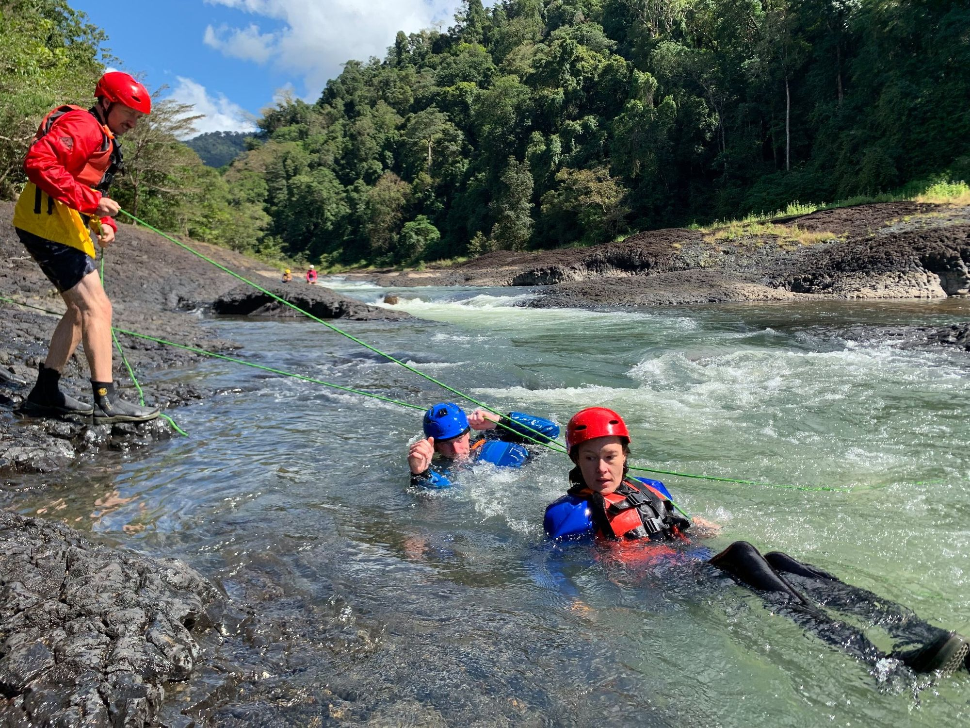 whitewater rescue Kristian Weldon
