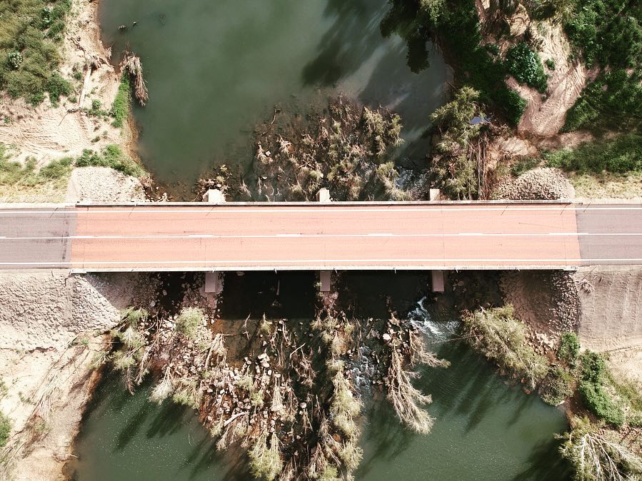keelbottom creek bridge hervey range