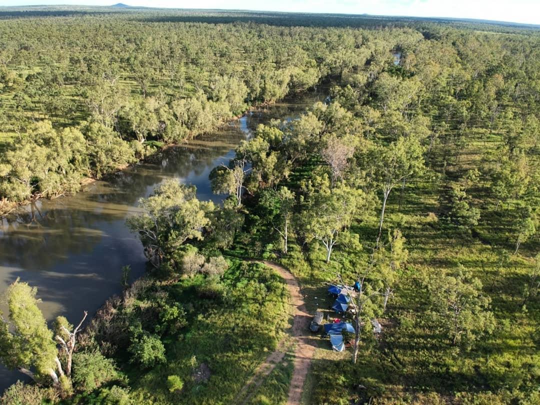 keelbottom creek hervey range camping