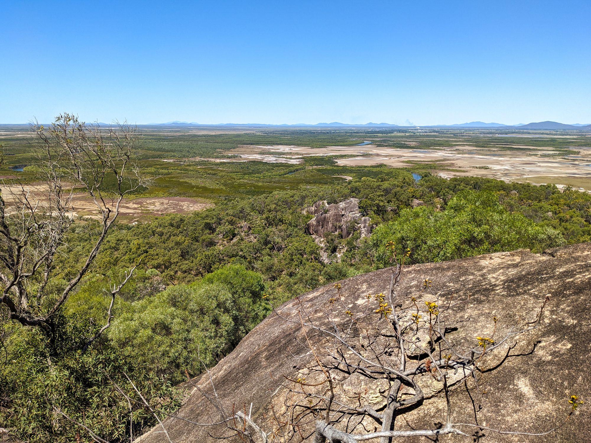 Mt Burrumbush Feltham Cone lookout