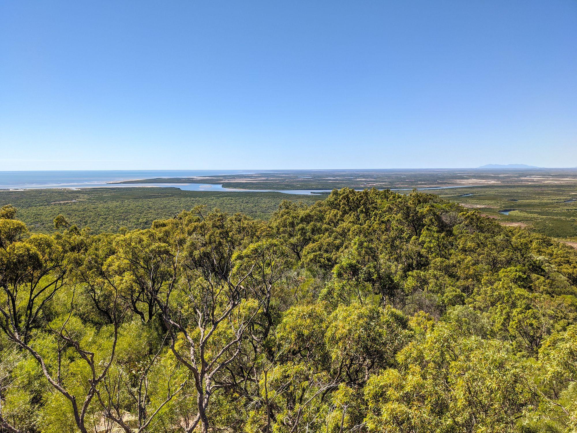 Mt Burrumbush Feltham Cone views