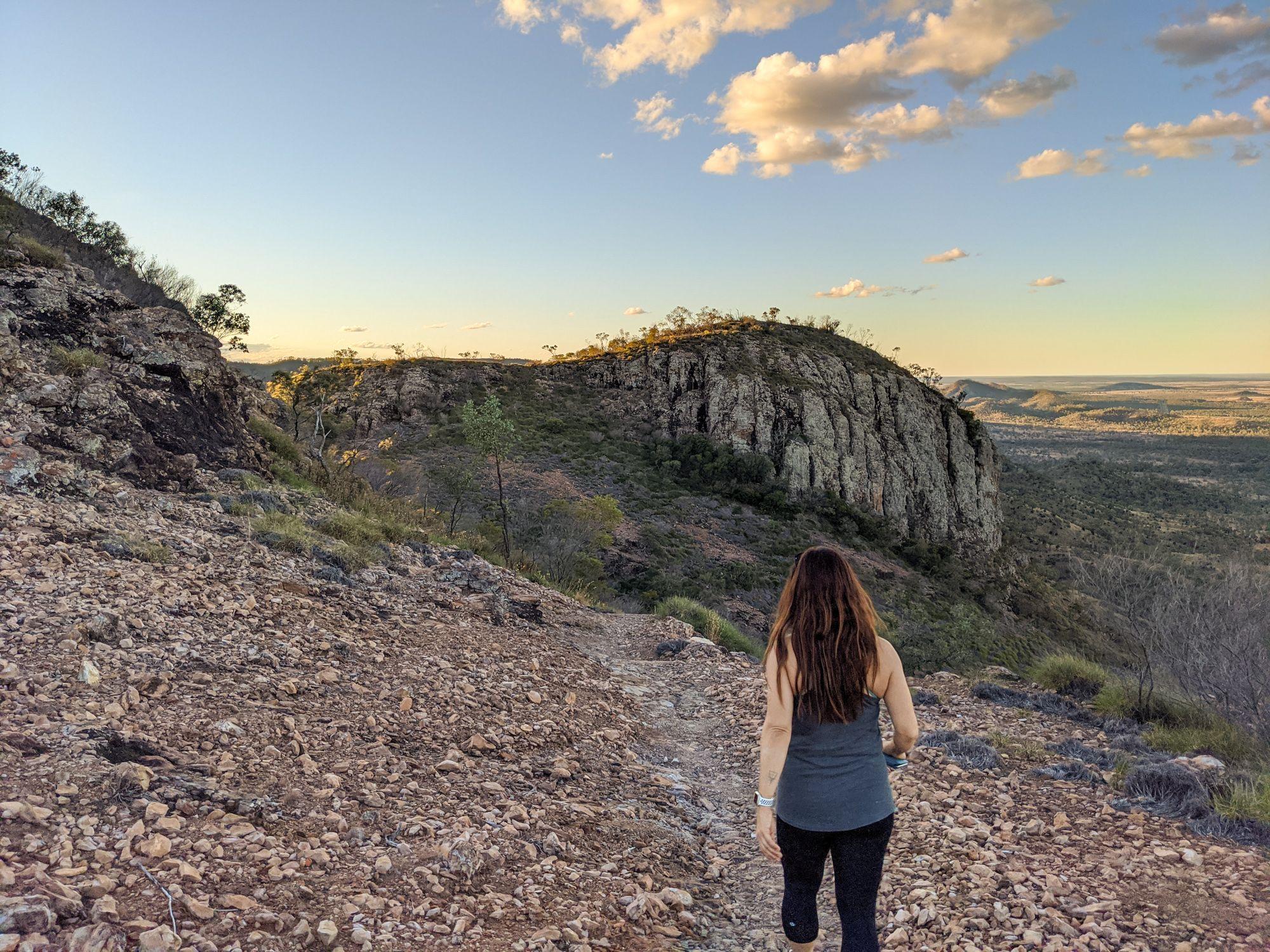 Skyline lookout track Jodie Rummer Minerva Hills National Park