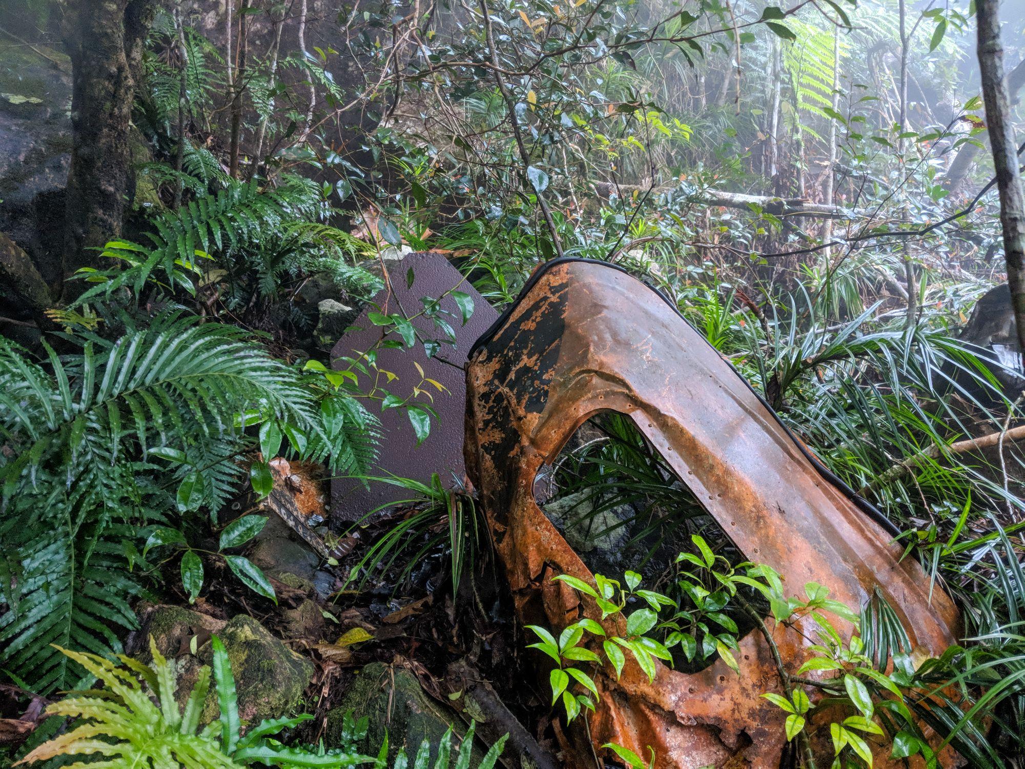 plane wreckage door mt straloch