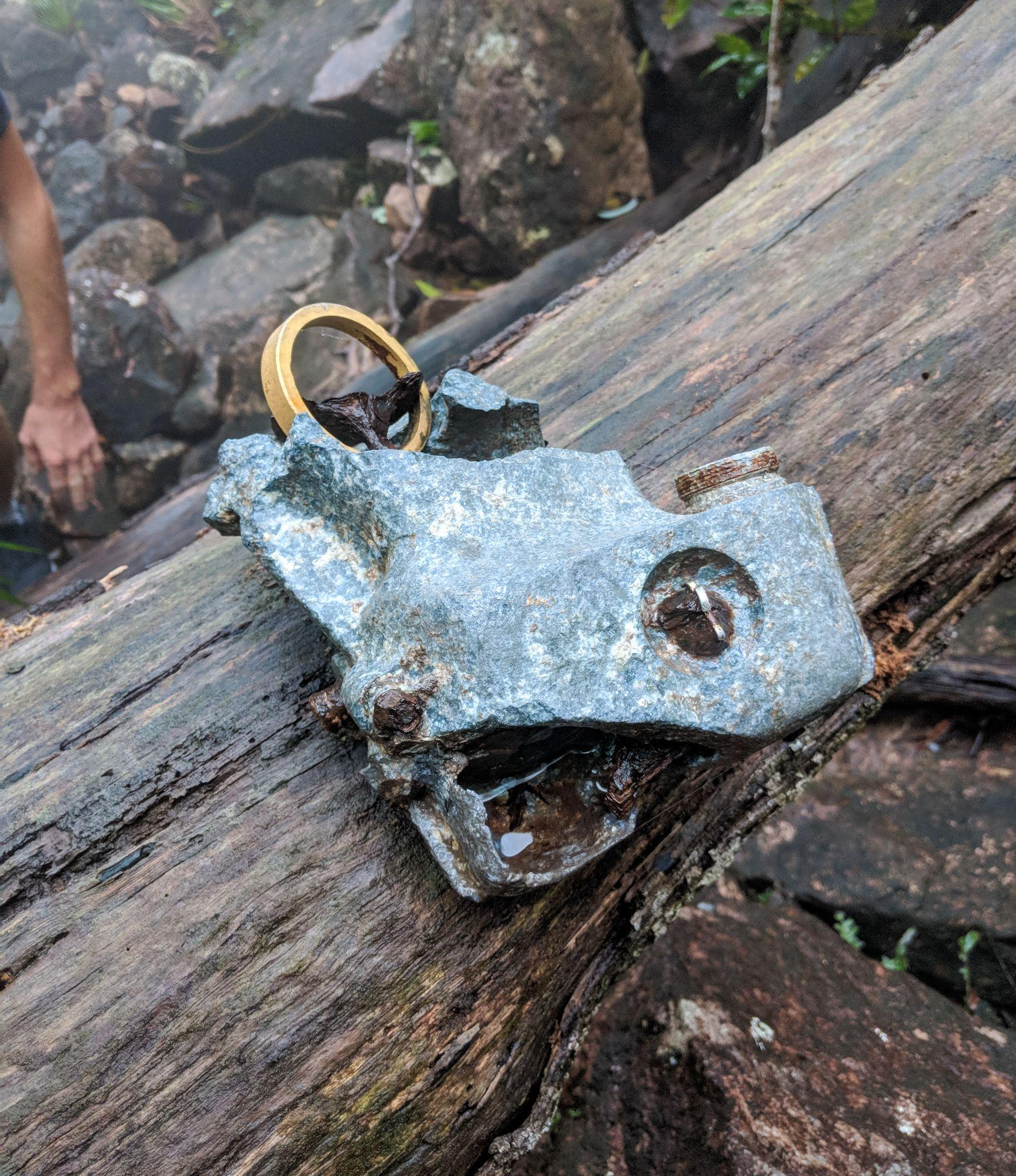 plane wreckage part mt straloch