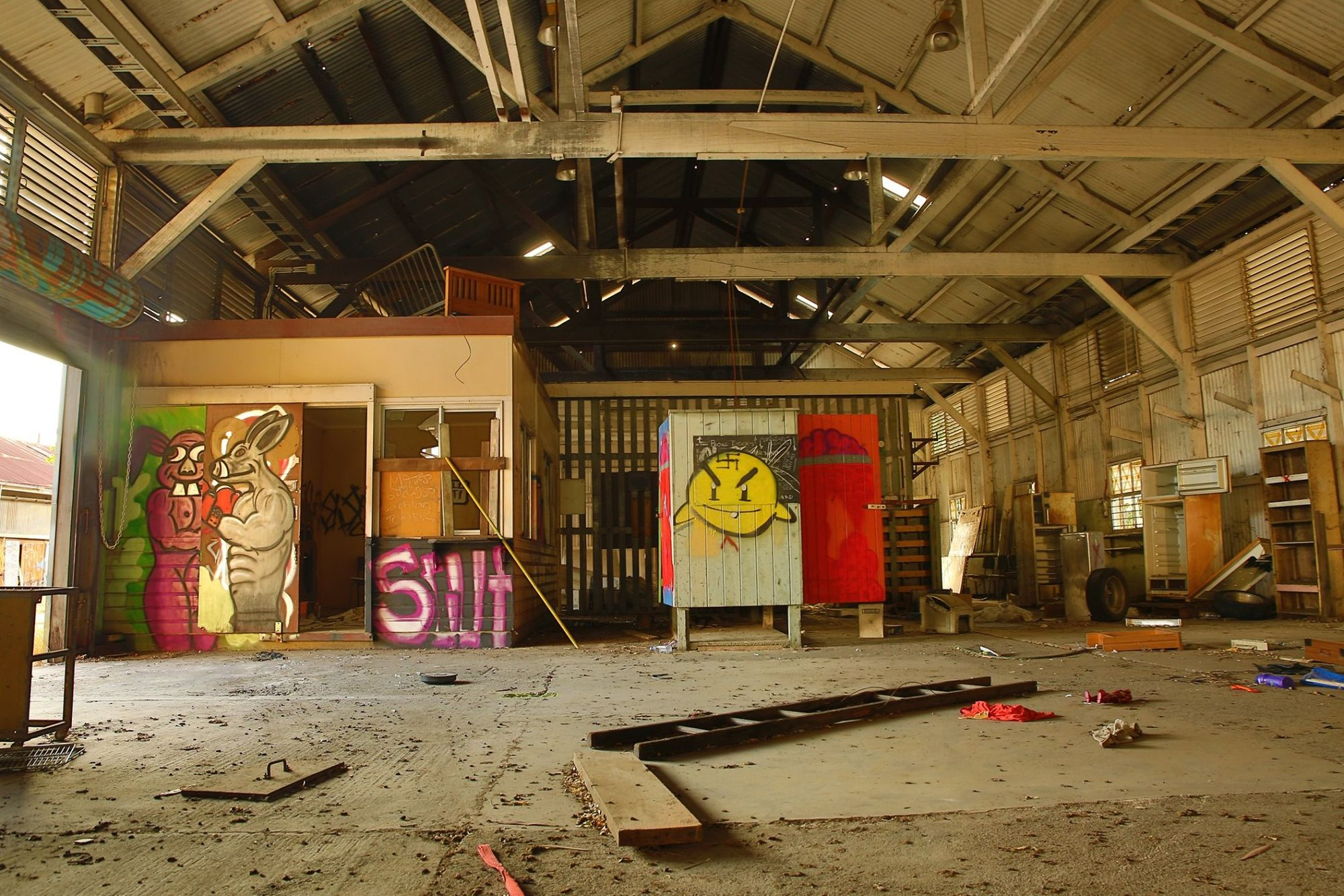 railyards graffiti townsville