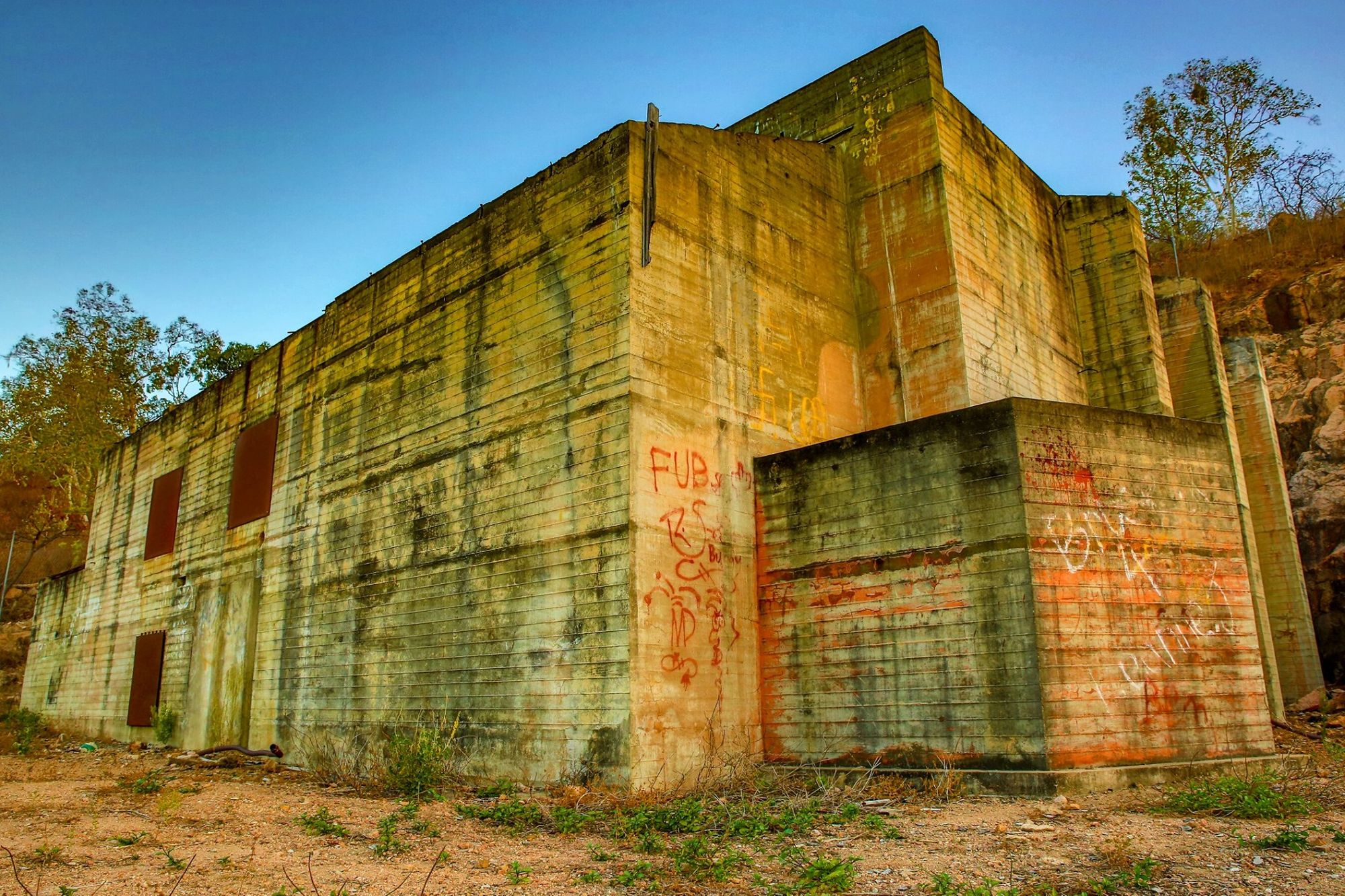 stuart headquaters bunker