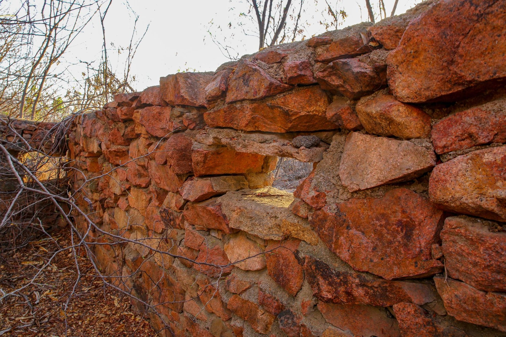 west end stone wall