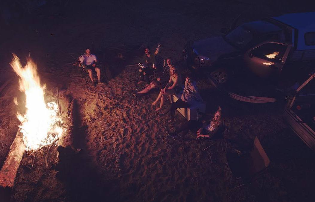 camping at big bend charters towers 1