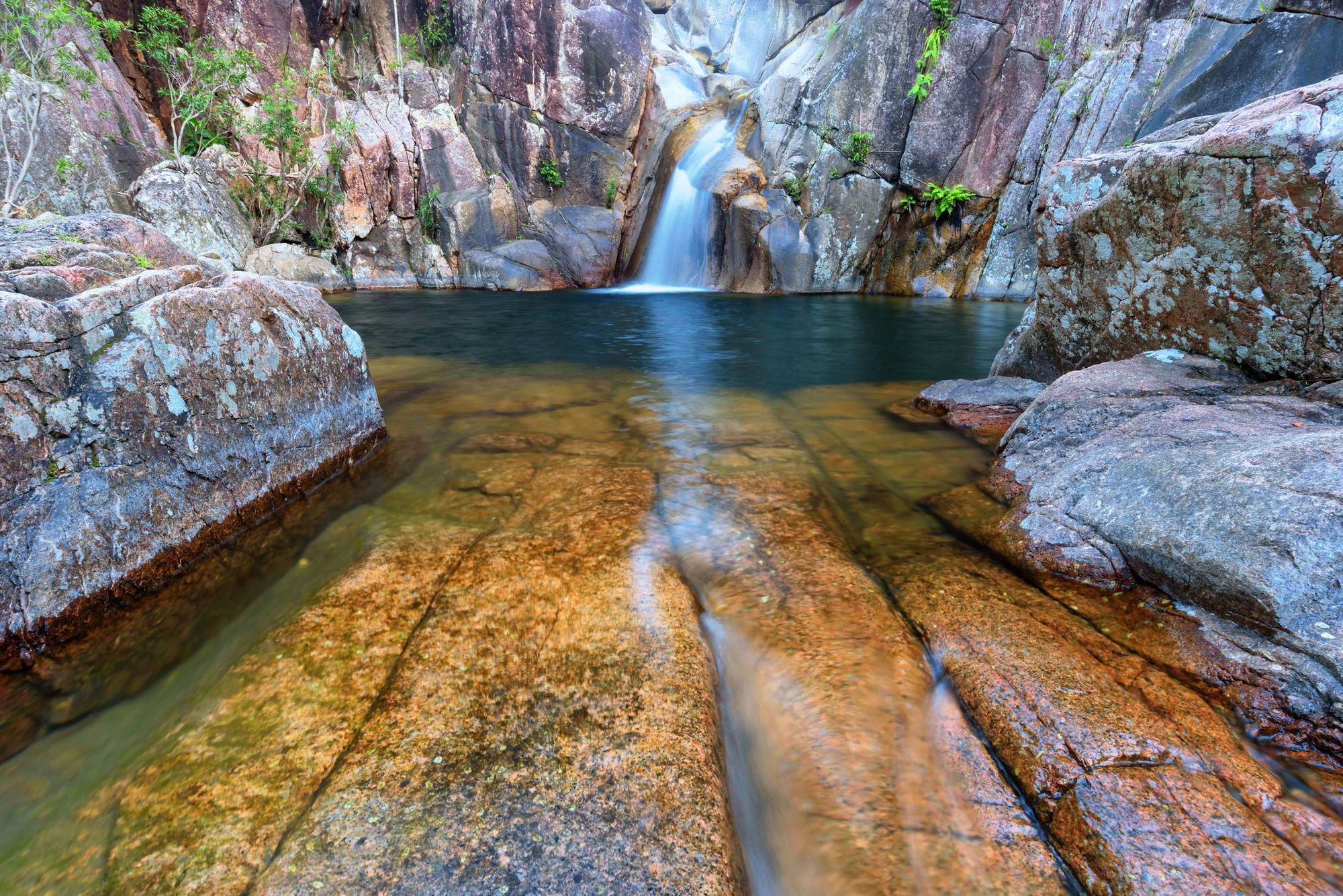 devils leap little crystal creek paluma