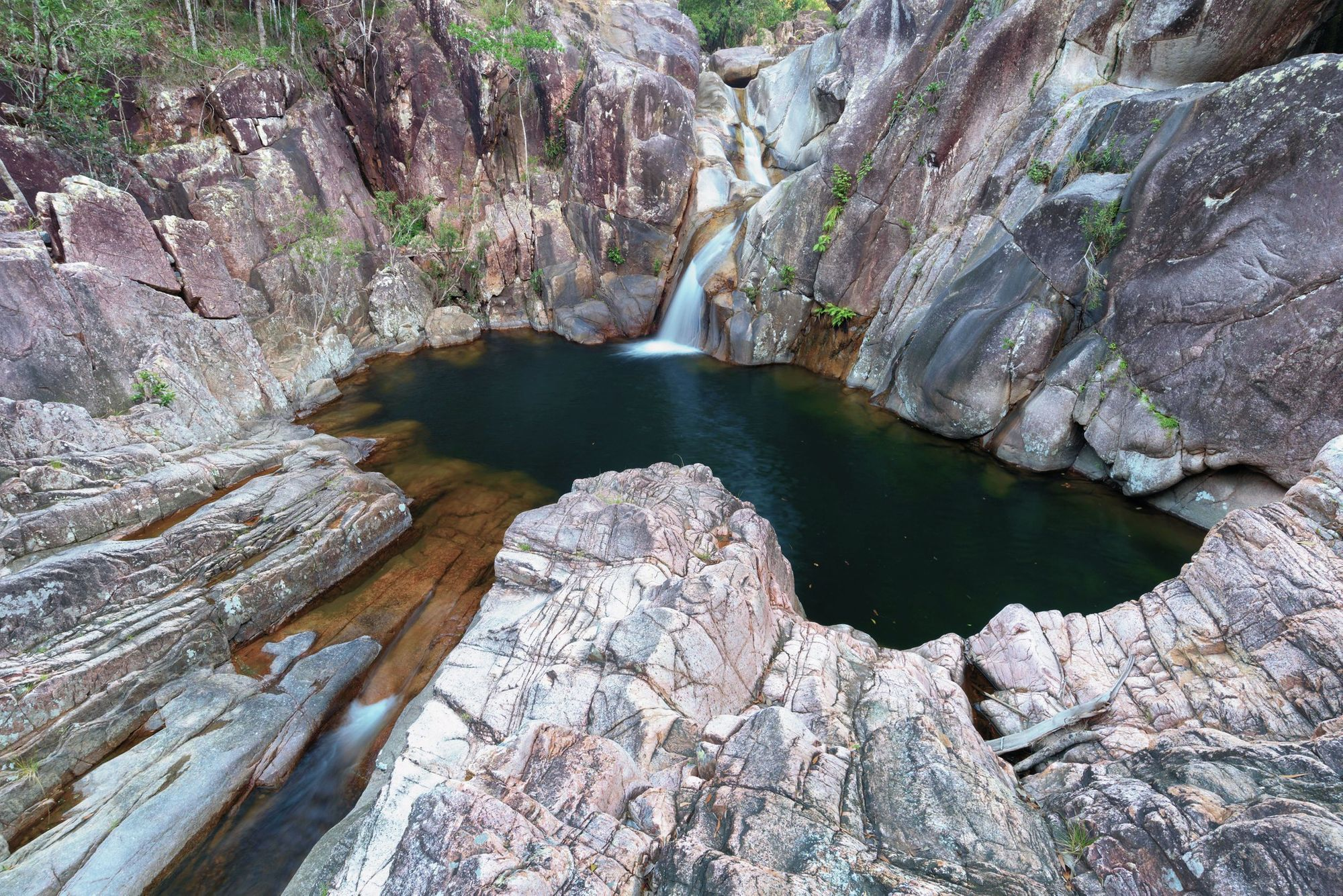 devils leap pool little crystal creek paluma