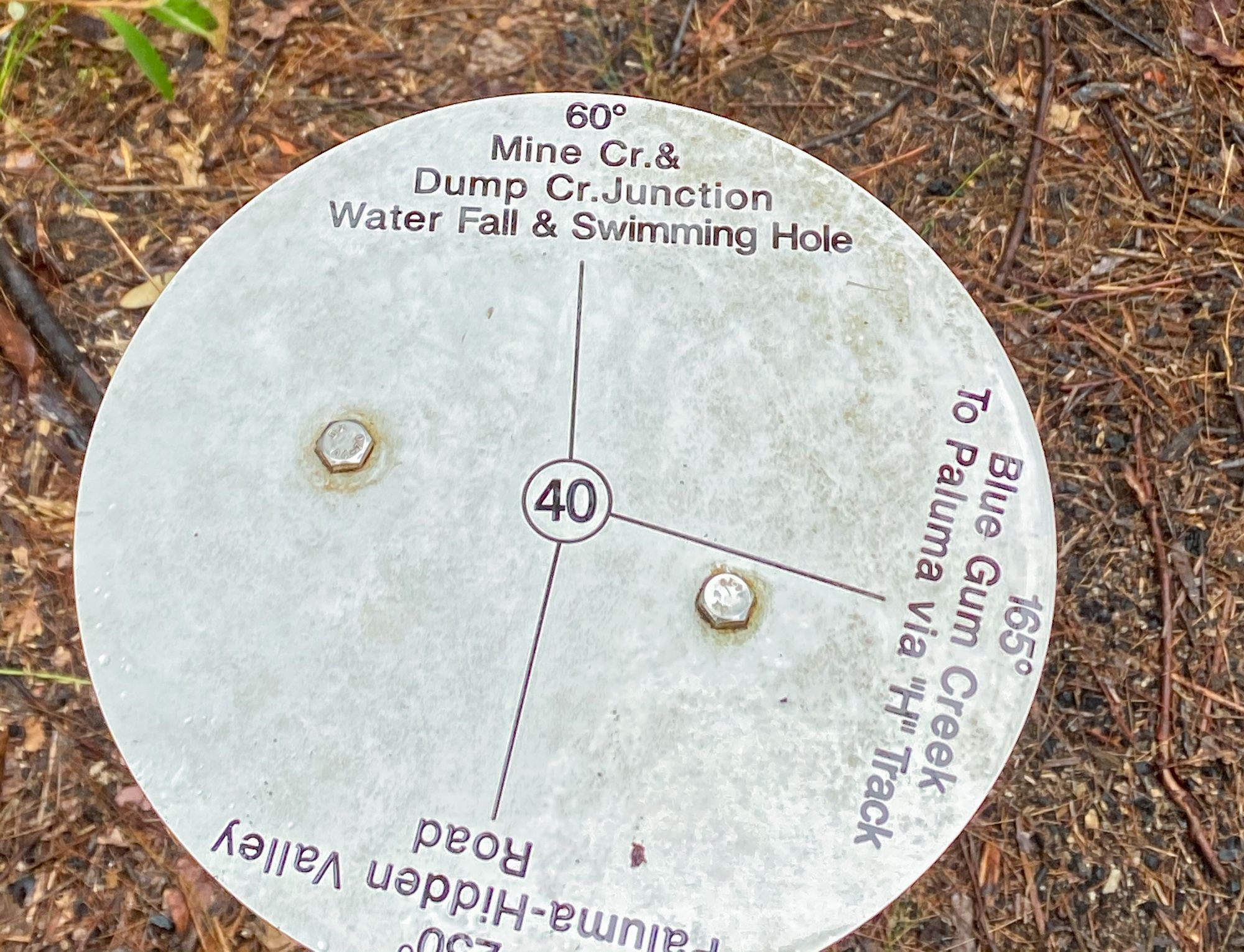 junction 40 marker