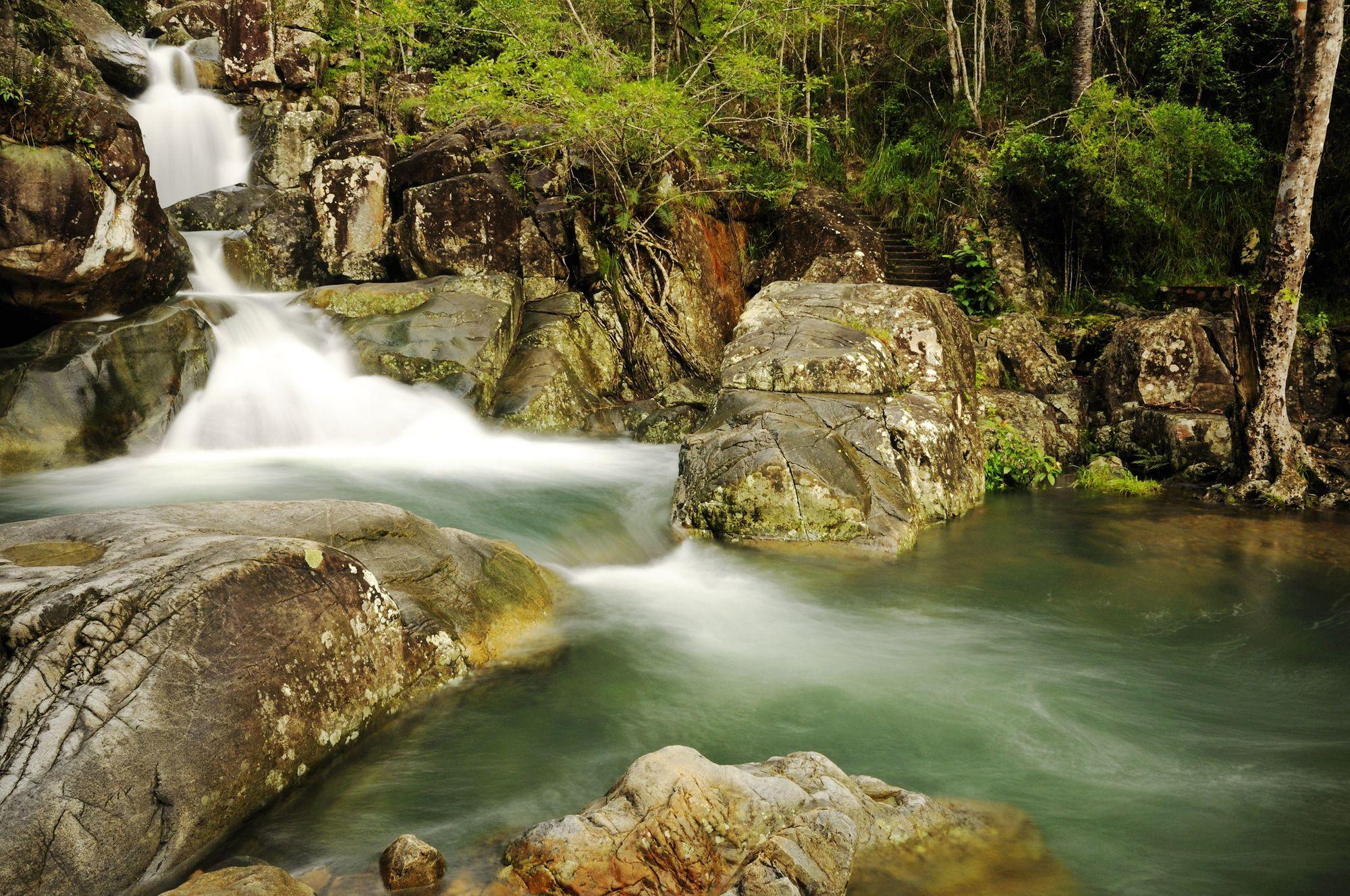 little crystal creek waterfalls