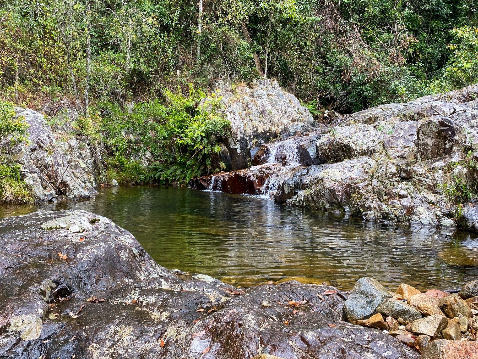 mine creek cascade