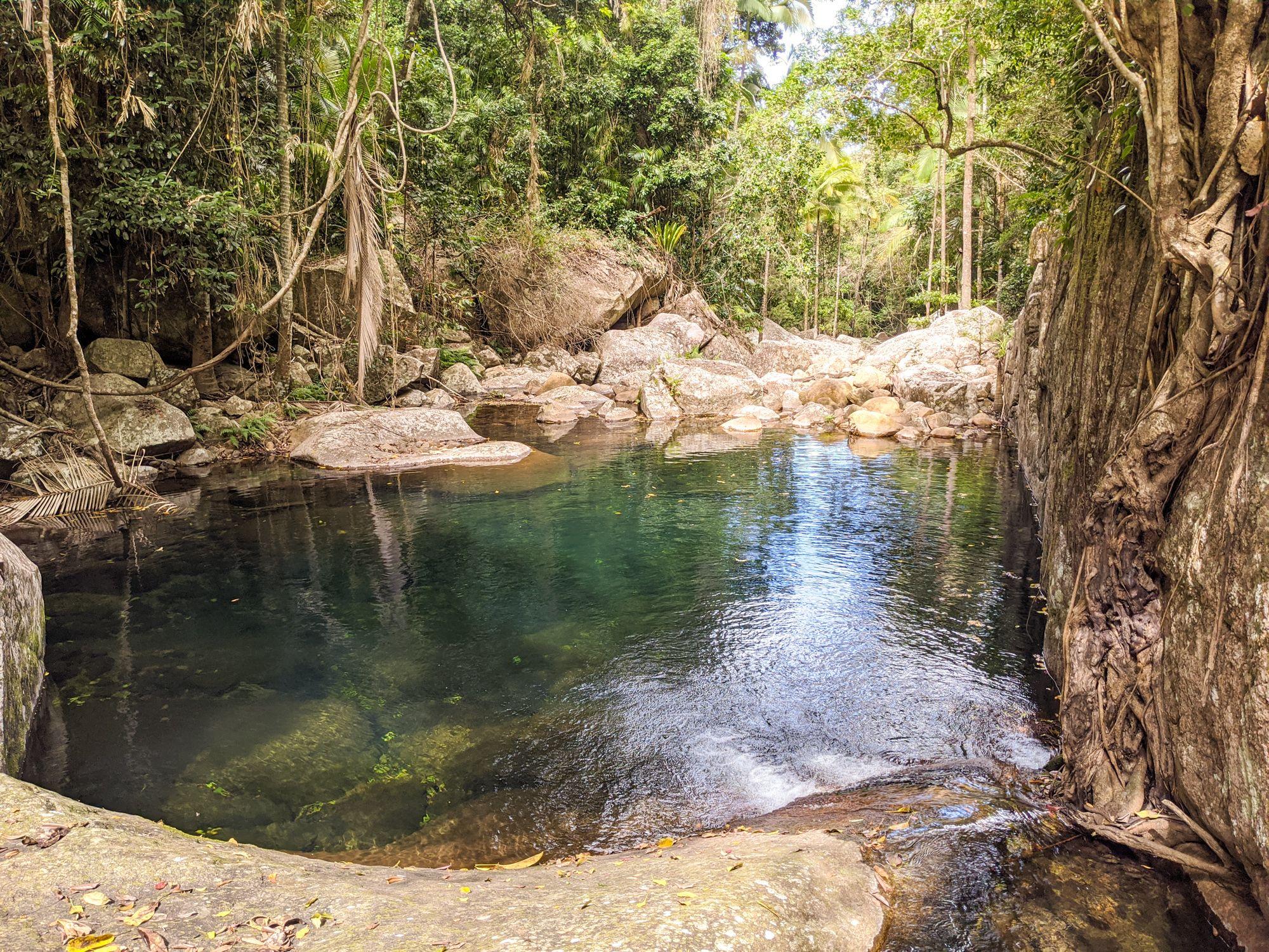 spring creek waterhole