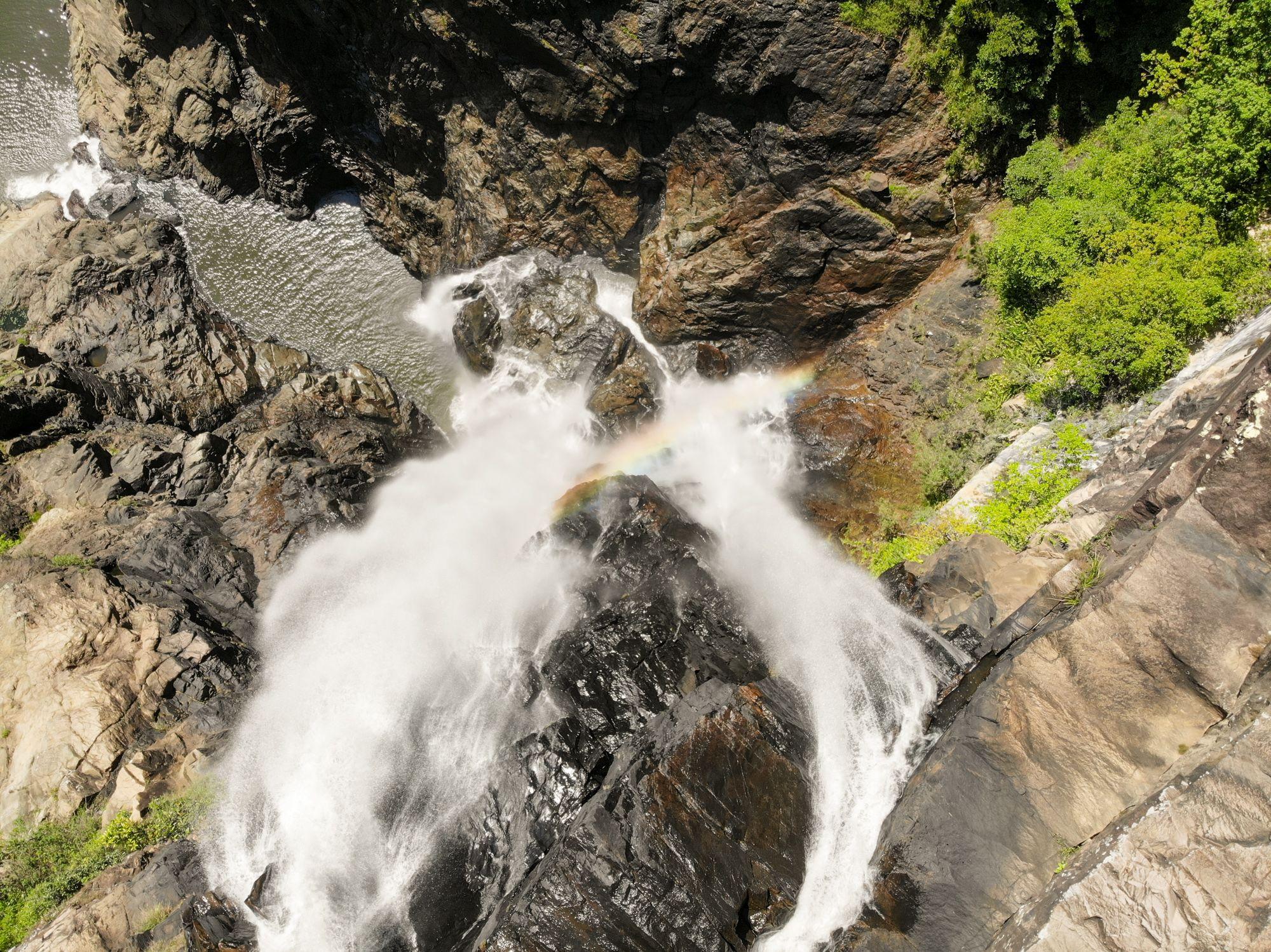 above garrawalt falls