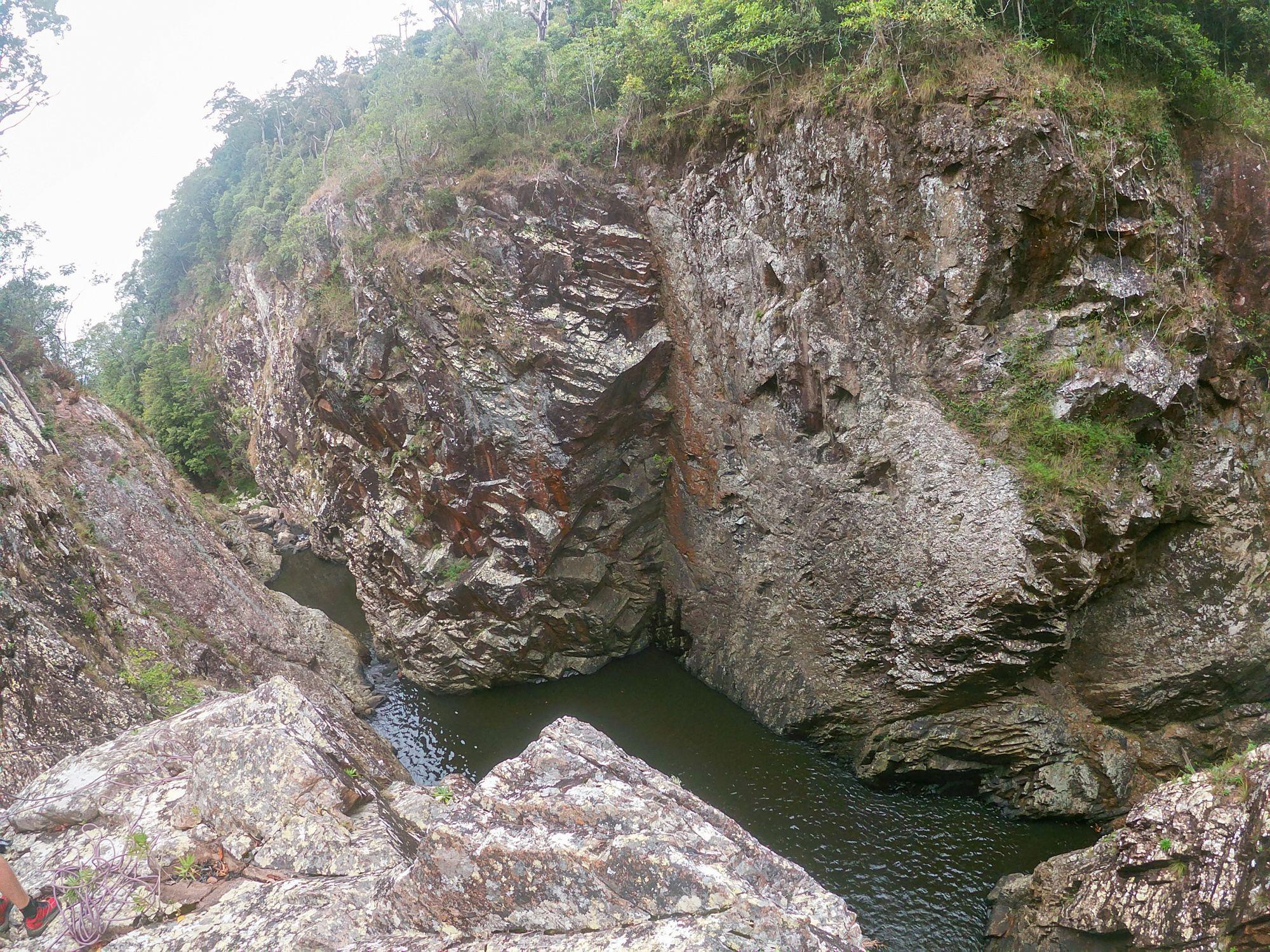 flagstone creek gorge pool