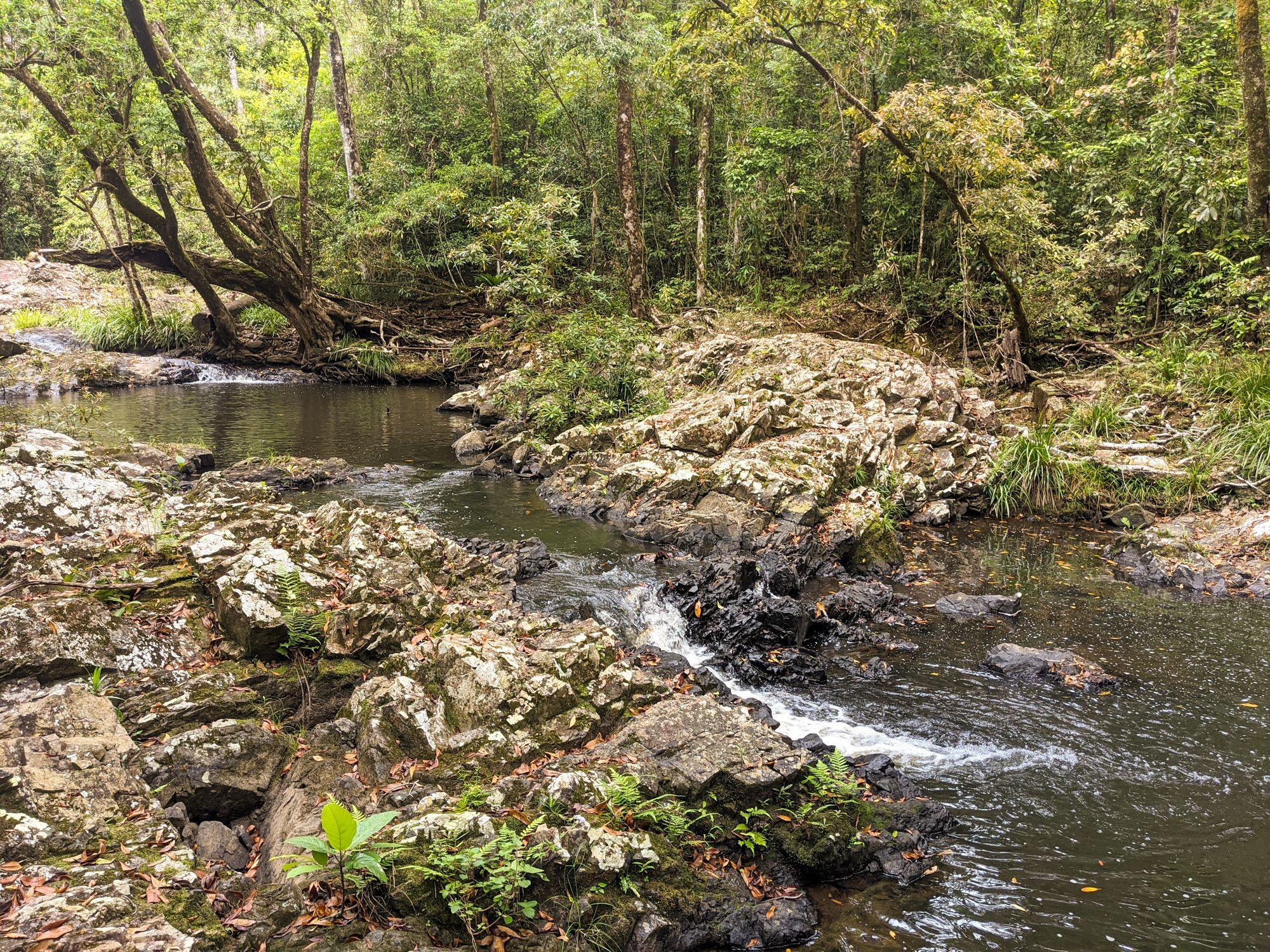 flagstone stream