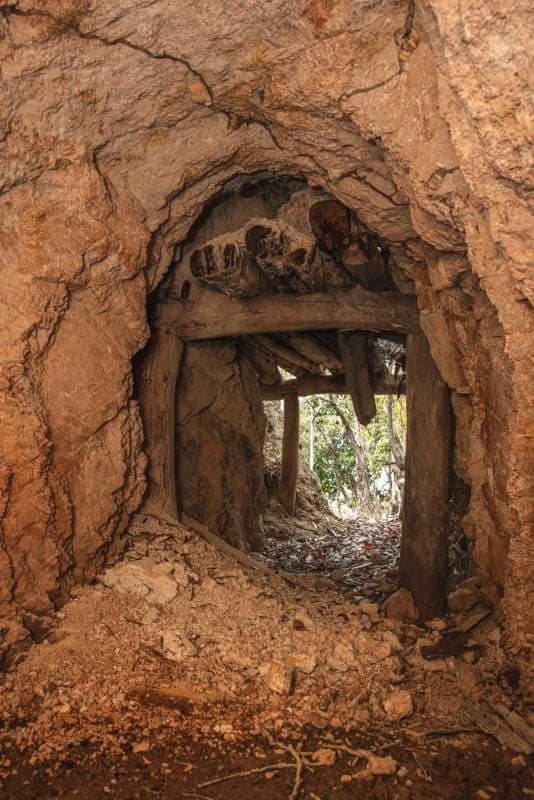 paluma wolfram mine shalf tunnel