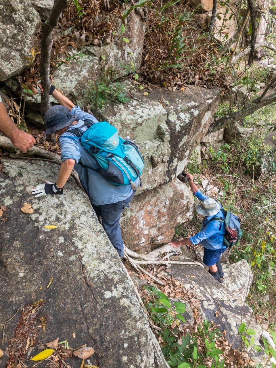 terraces rock climb