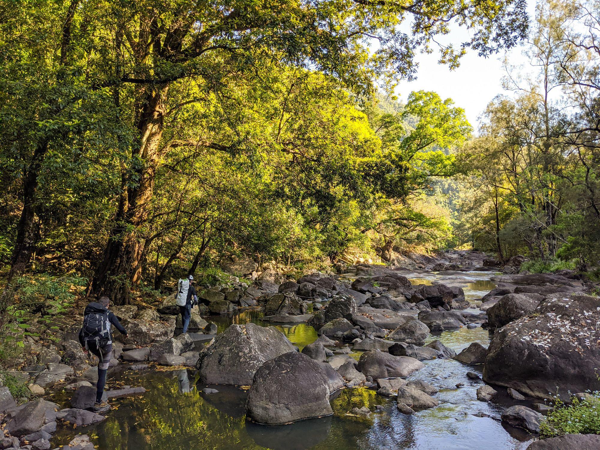Garrawalt Creek Rock Hopping