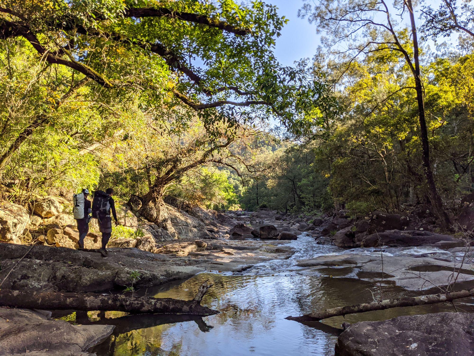 garawalt creek explore
