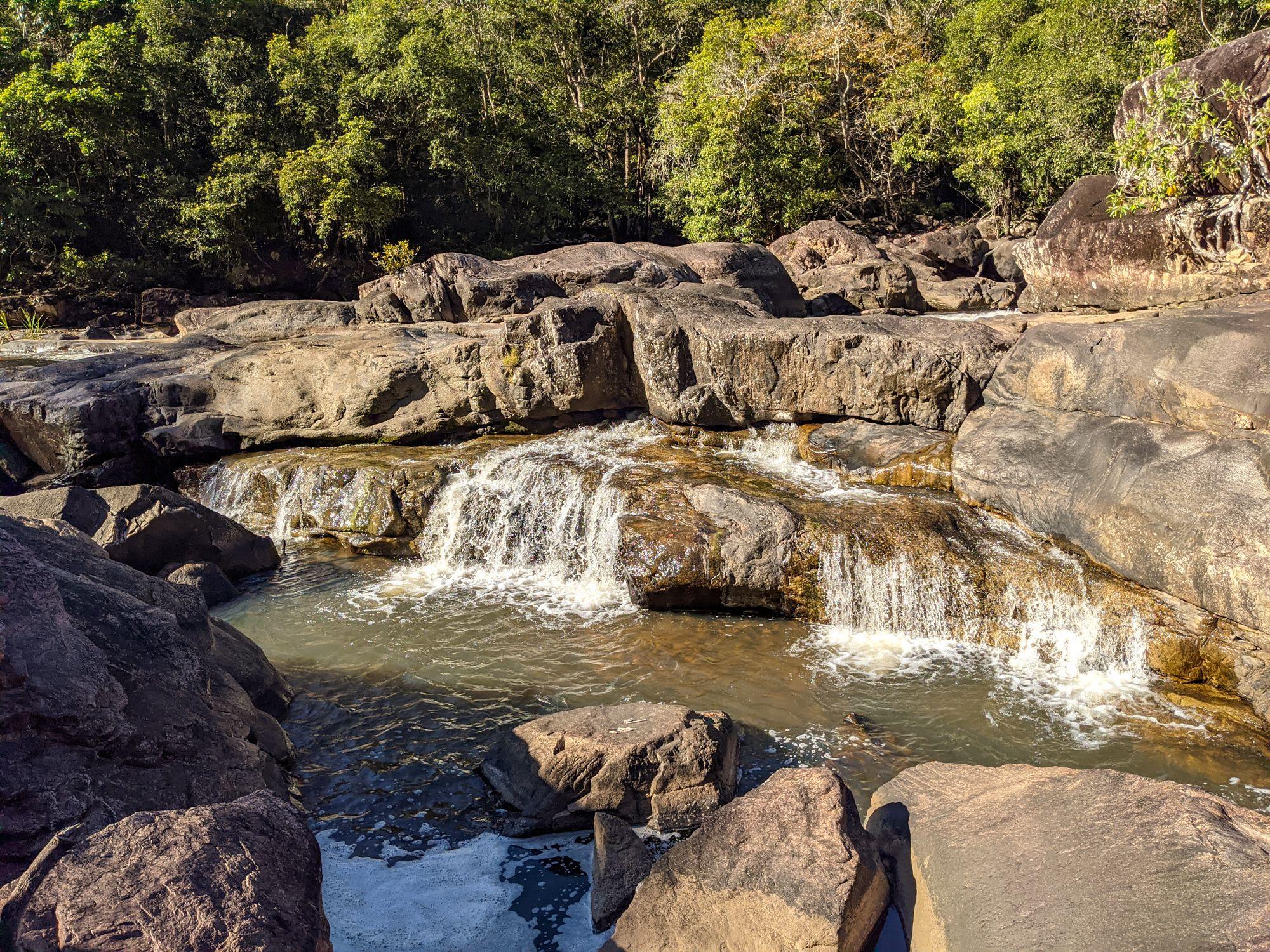 garrawalt creek interesting waterfall cascade