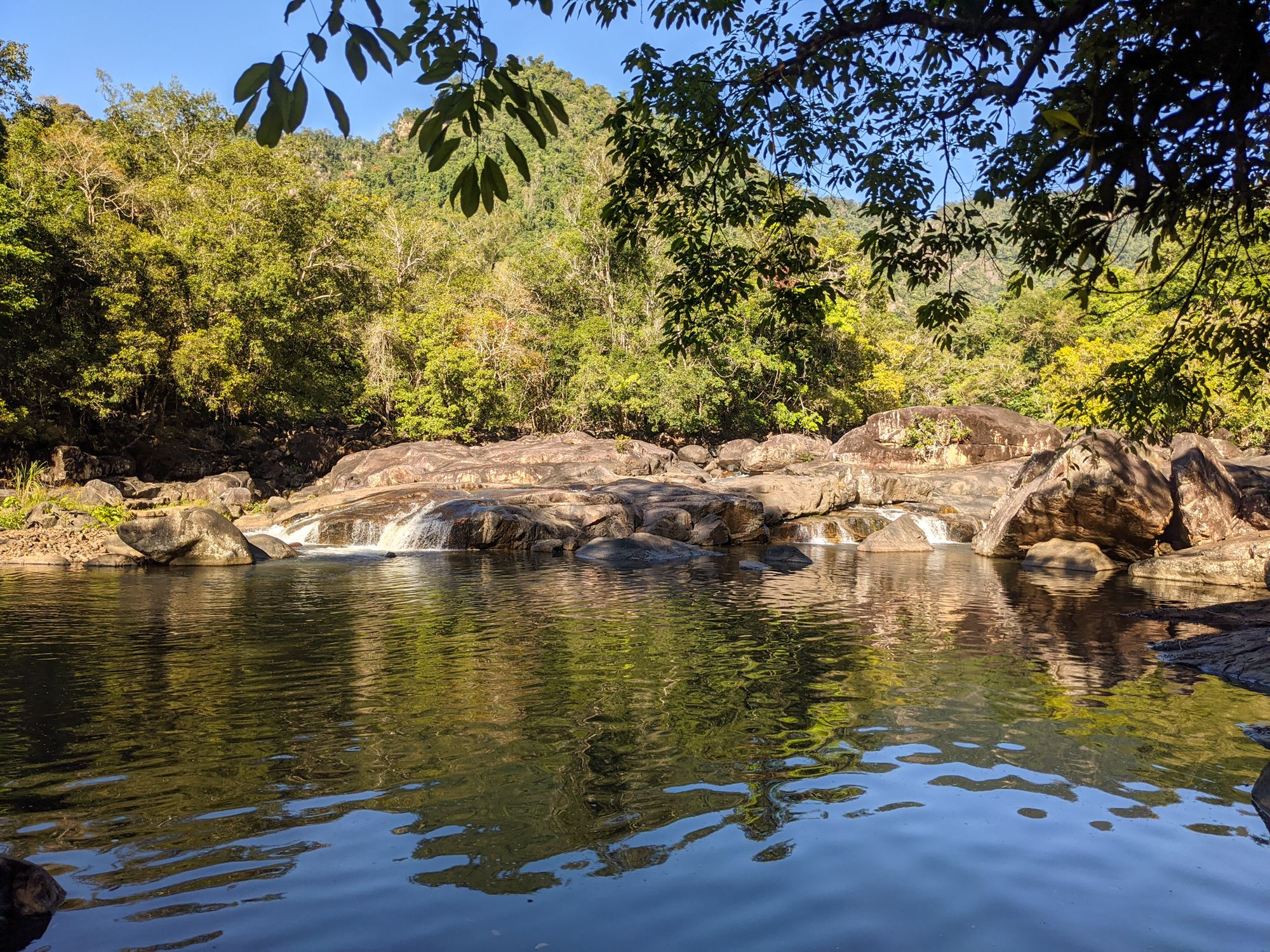 garrawalt creek interesting waterfall