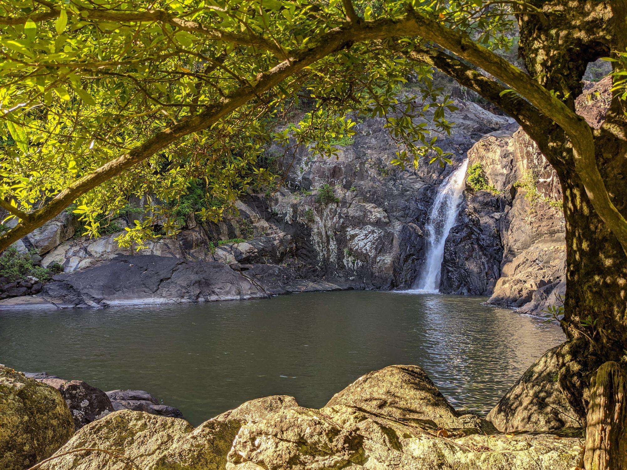 lower waterfall garrawalt creek