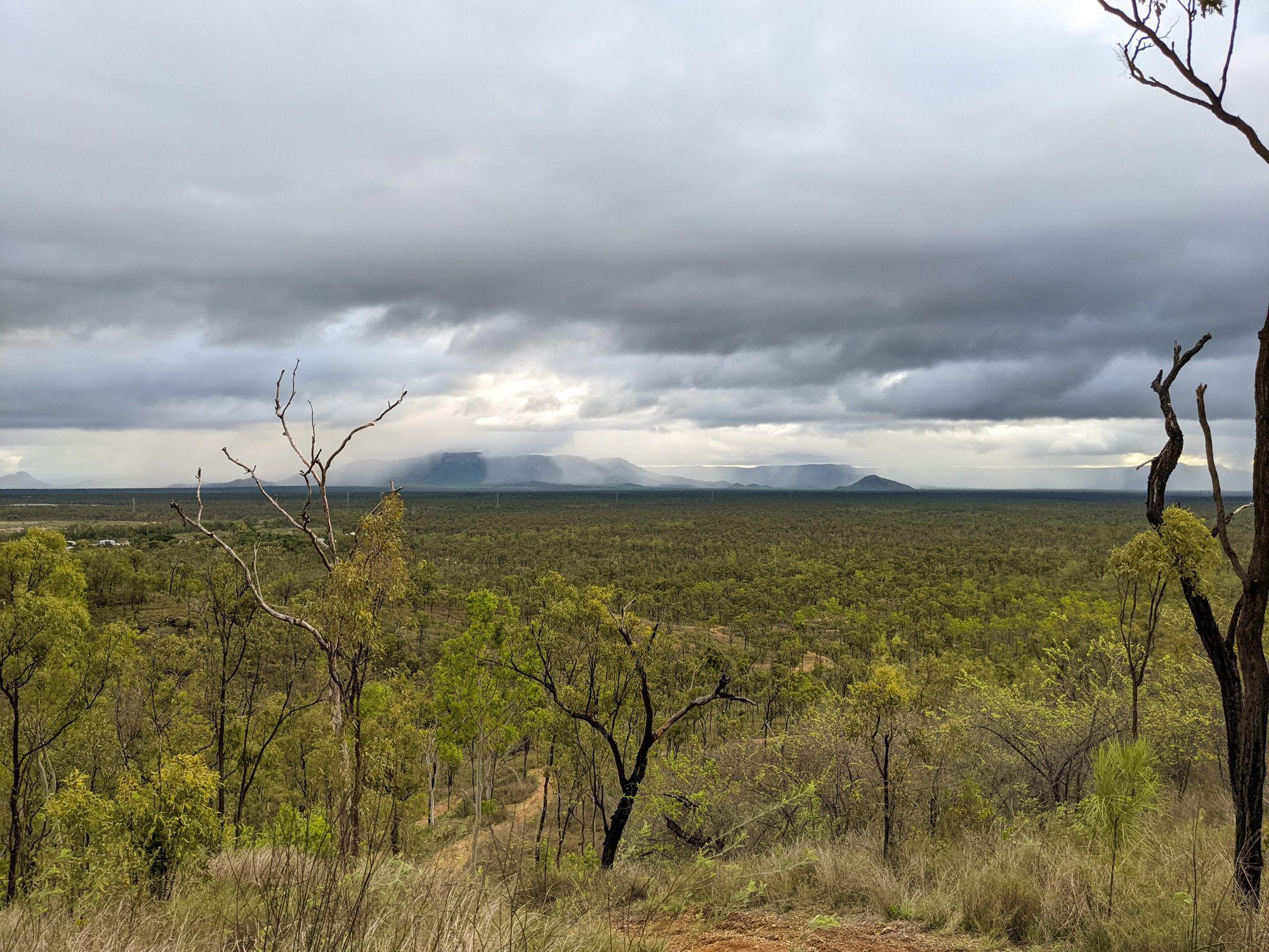 bohle views to frederick peak hervey range