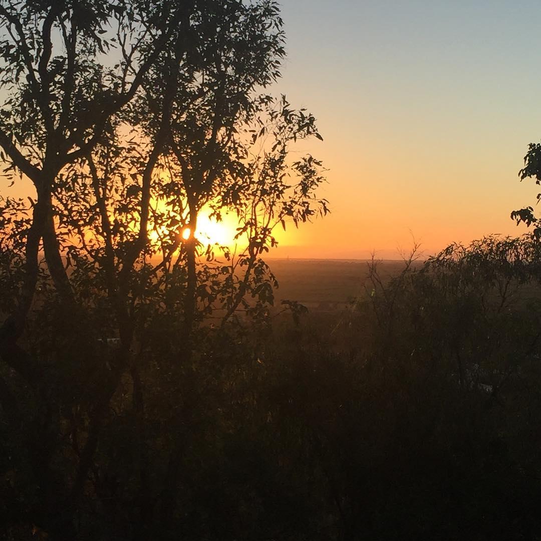 kelly mountain sunrise