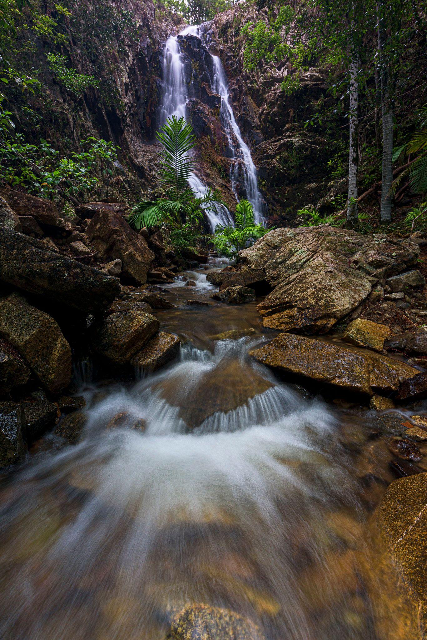 mine creek waterfall paluma
