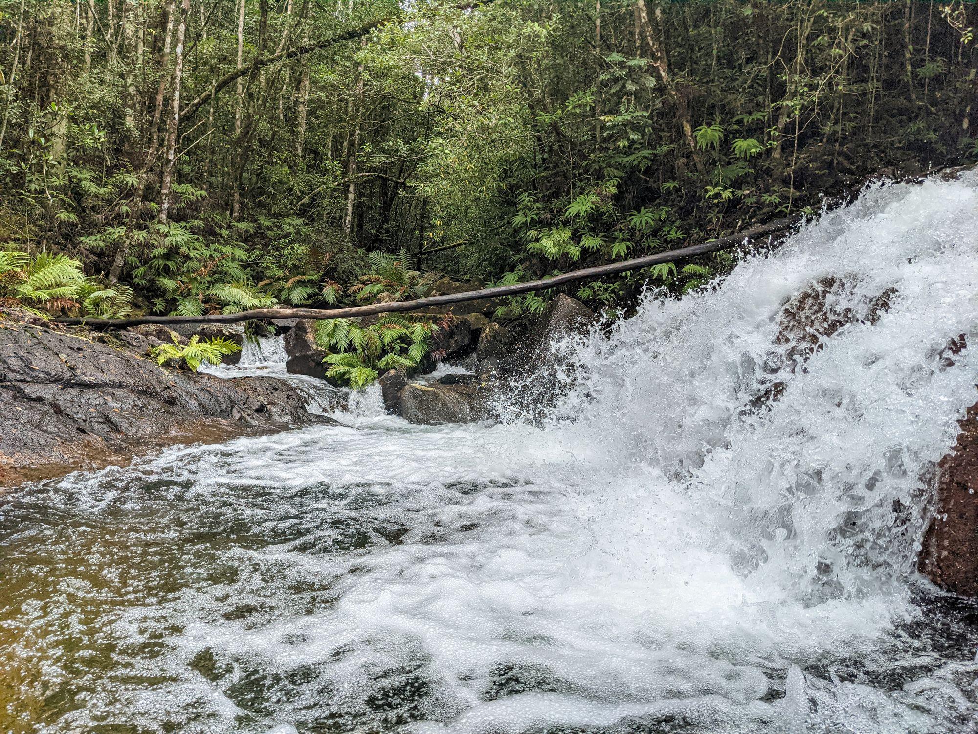 upper crystal creek cascade