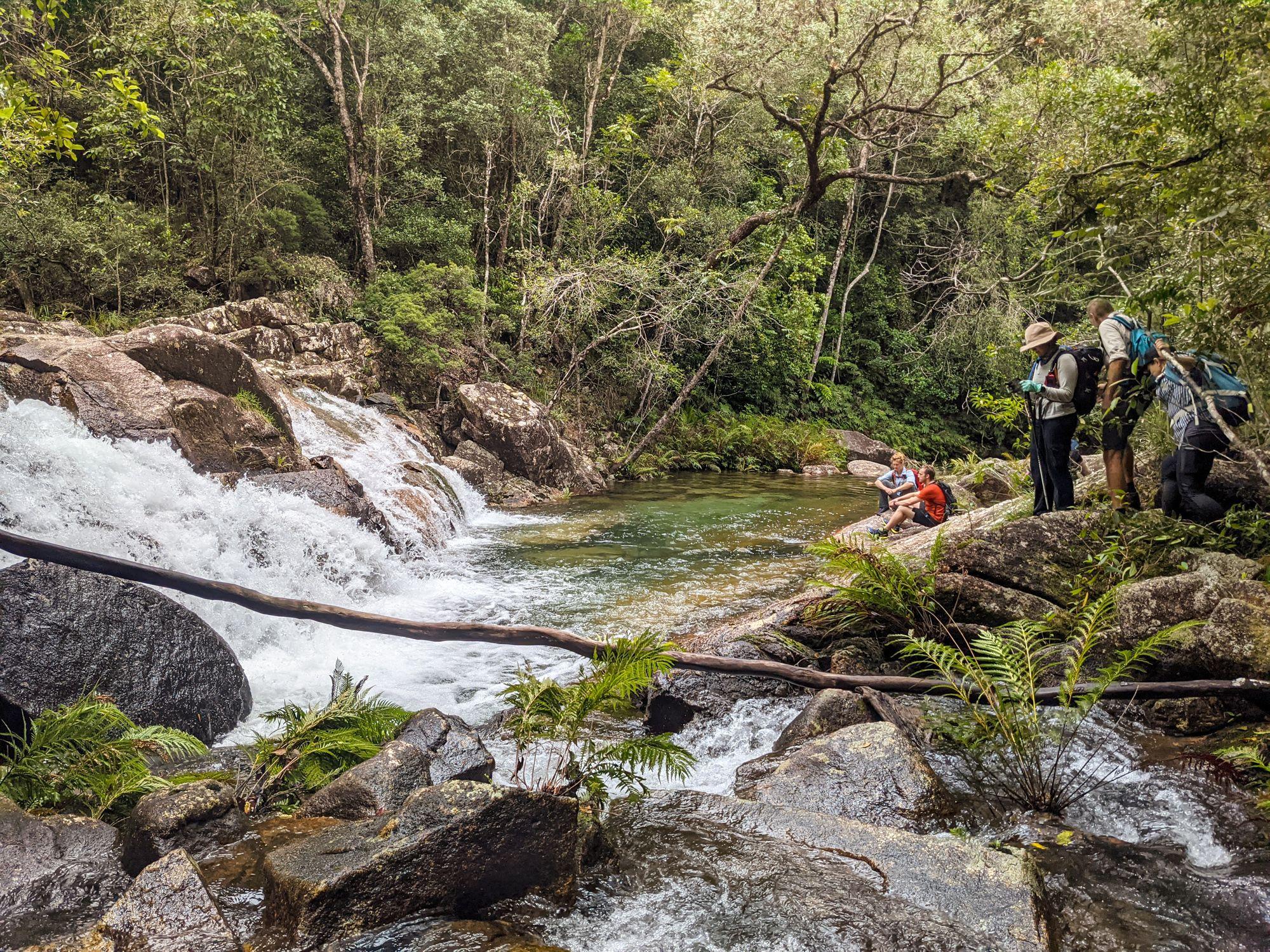 upper crystal creek falls