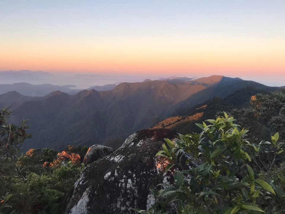 Corcovado Peak sunrise