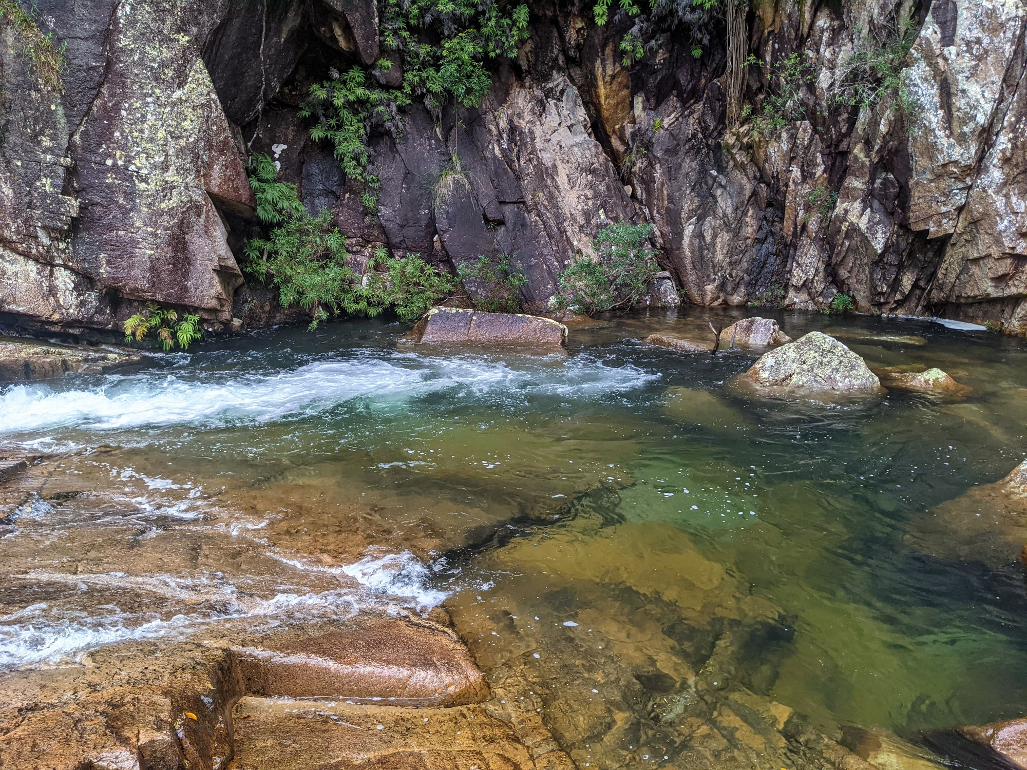 crystal creek falls pool