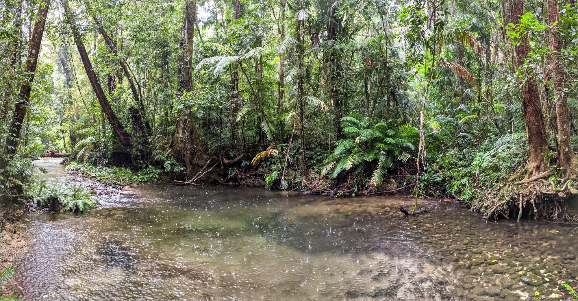 mid double barrel creek pool