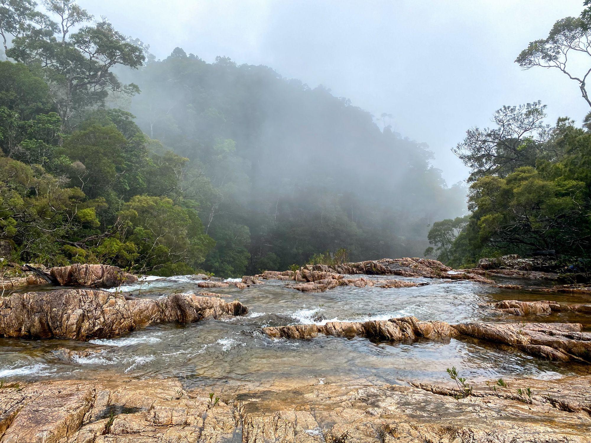 upper crystal creek misty