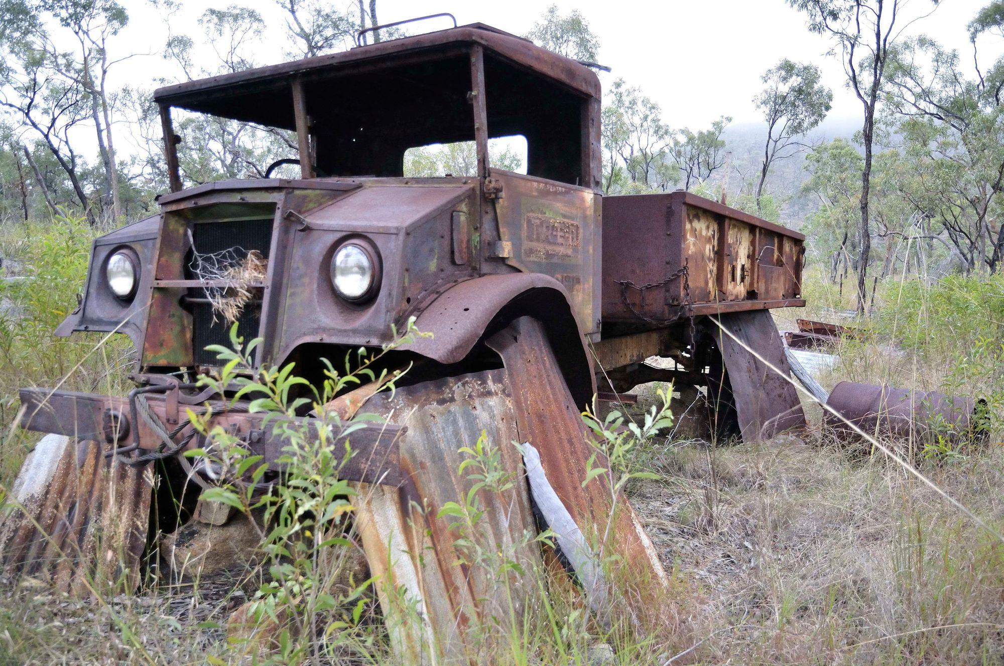 Goanna Mine truck