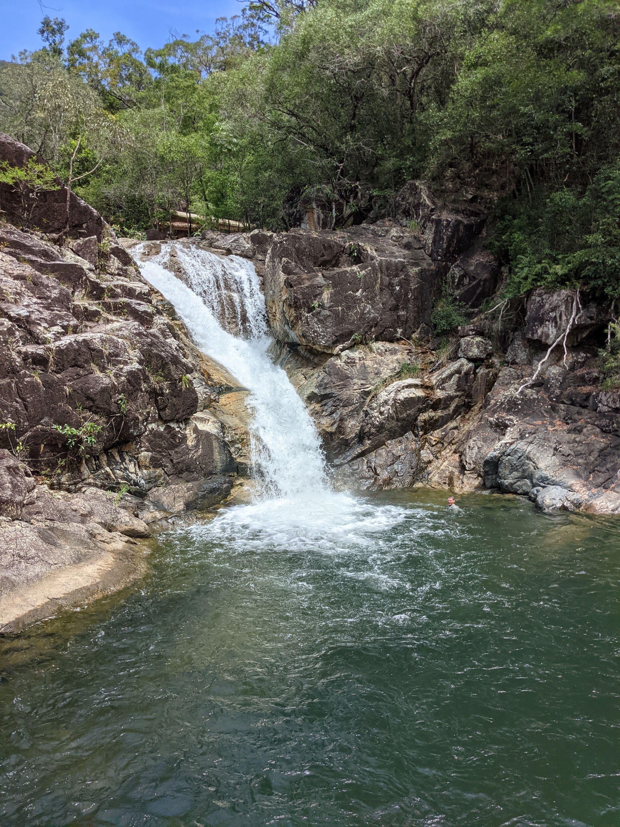 Lower Ethel Creek falls