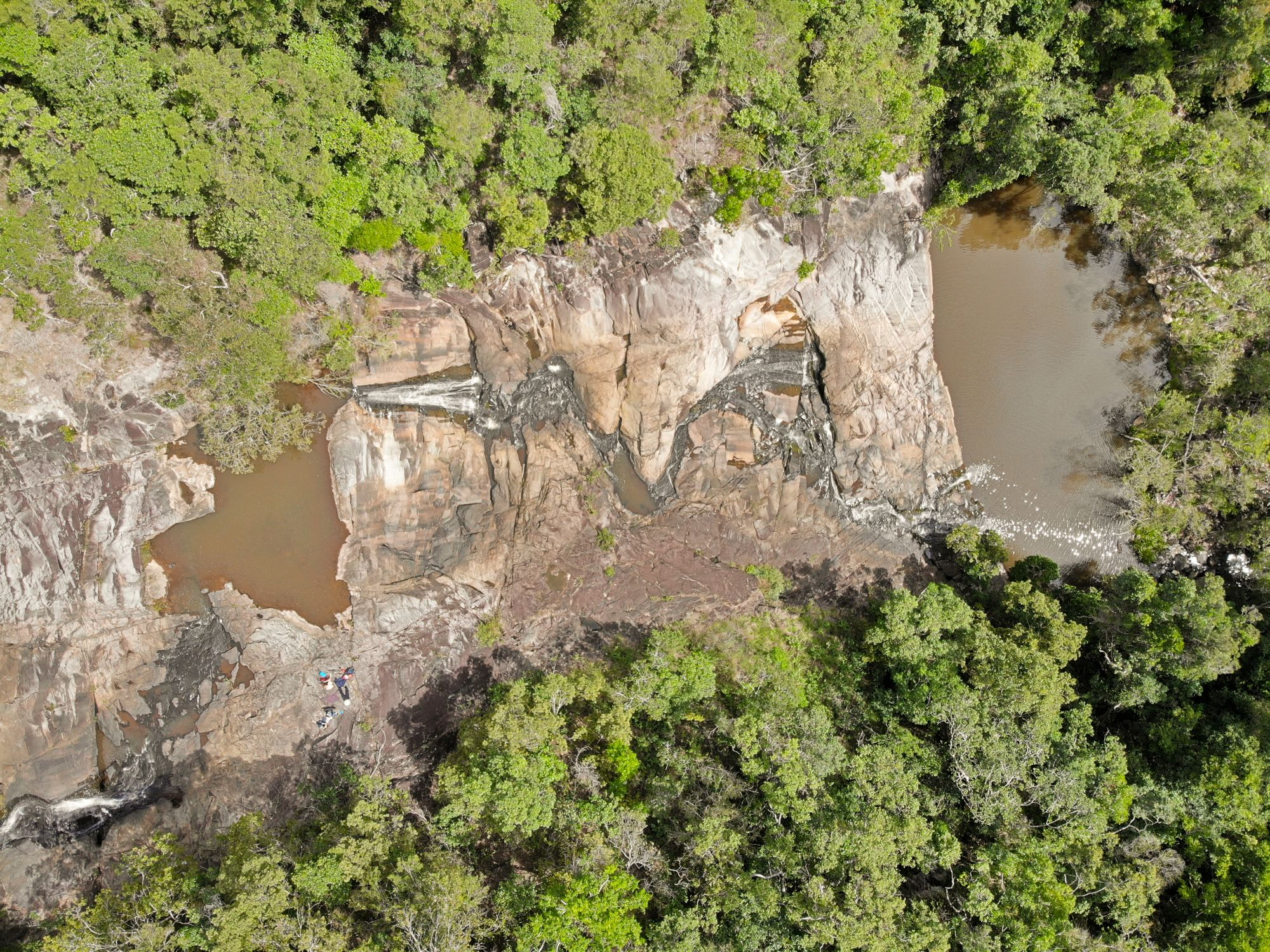 disaster creek birds eye view
