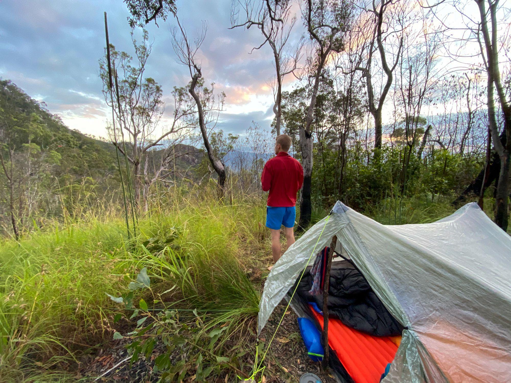 disaster creek campsite