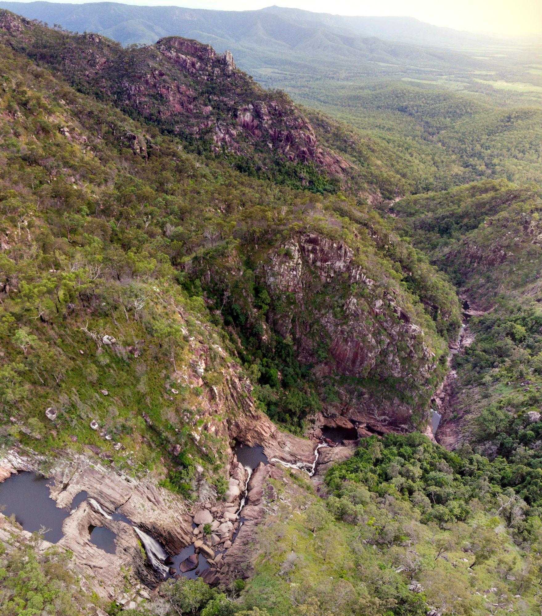 disaster creek canyon pano