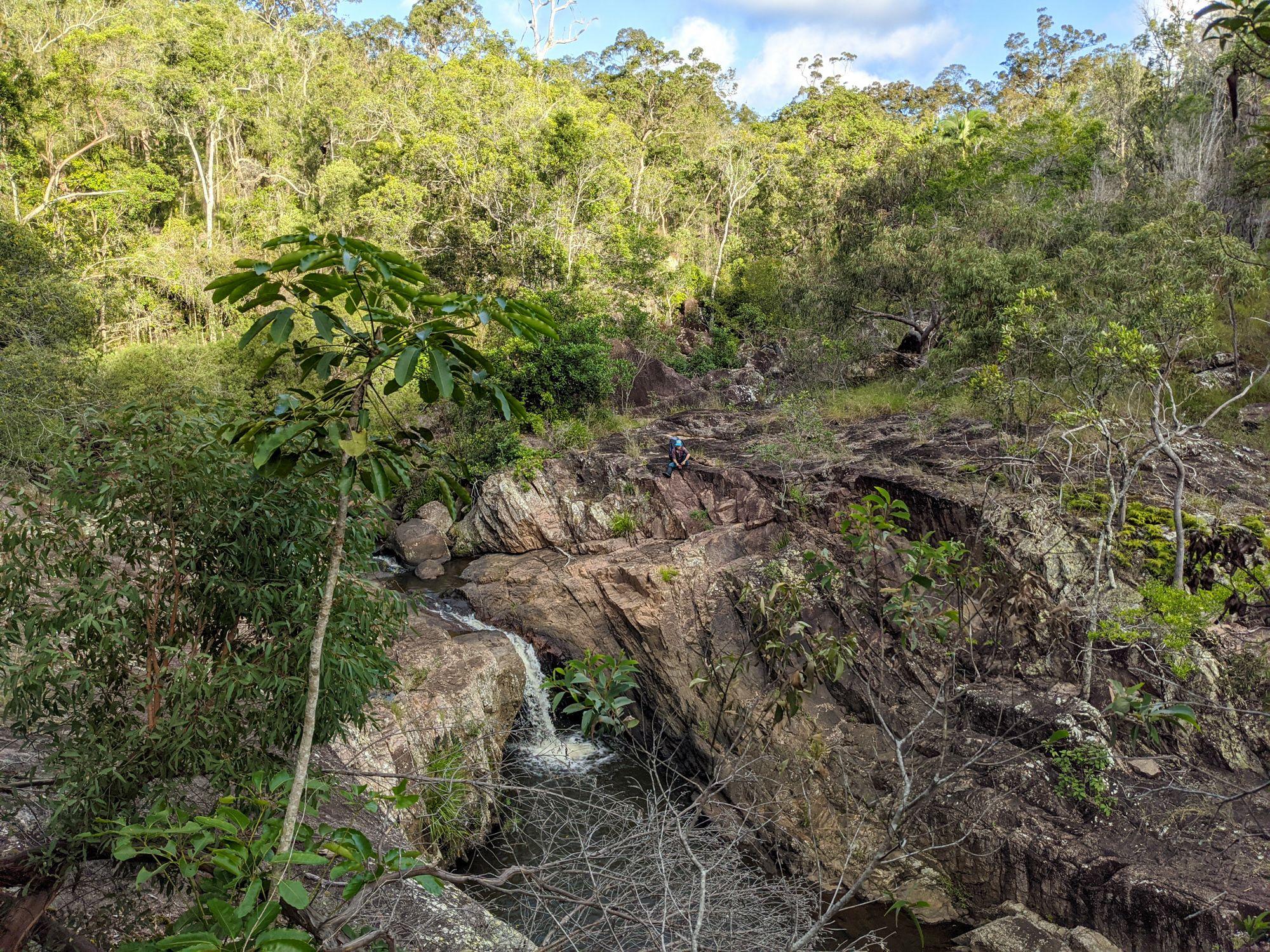 disaster creek cascade