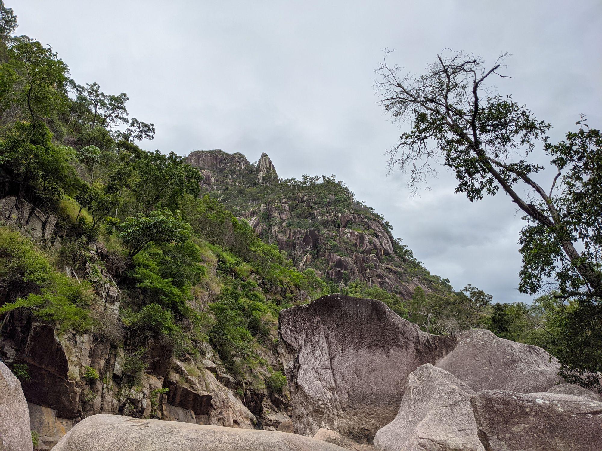 disaster creek large boulders