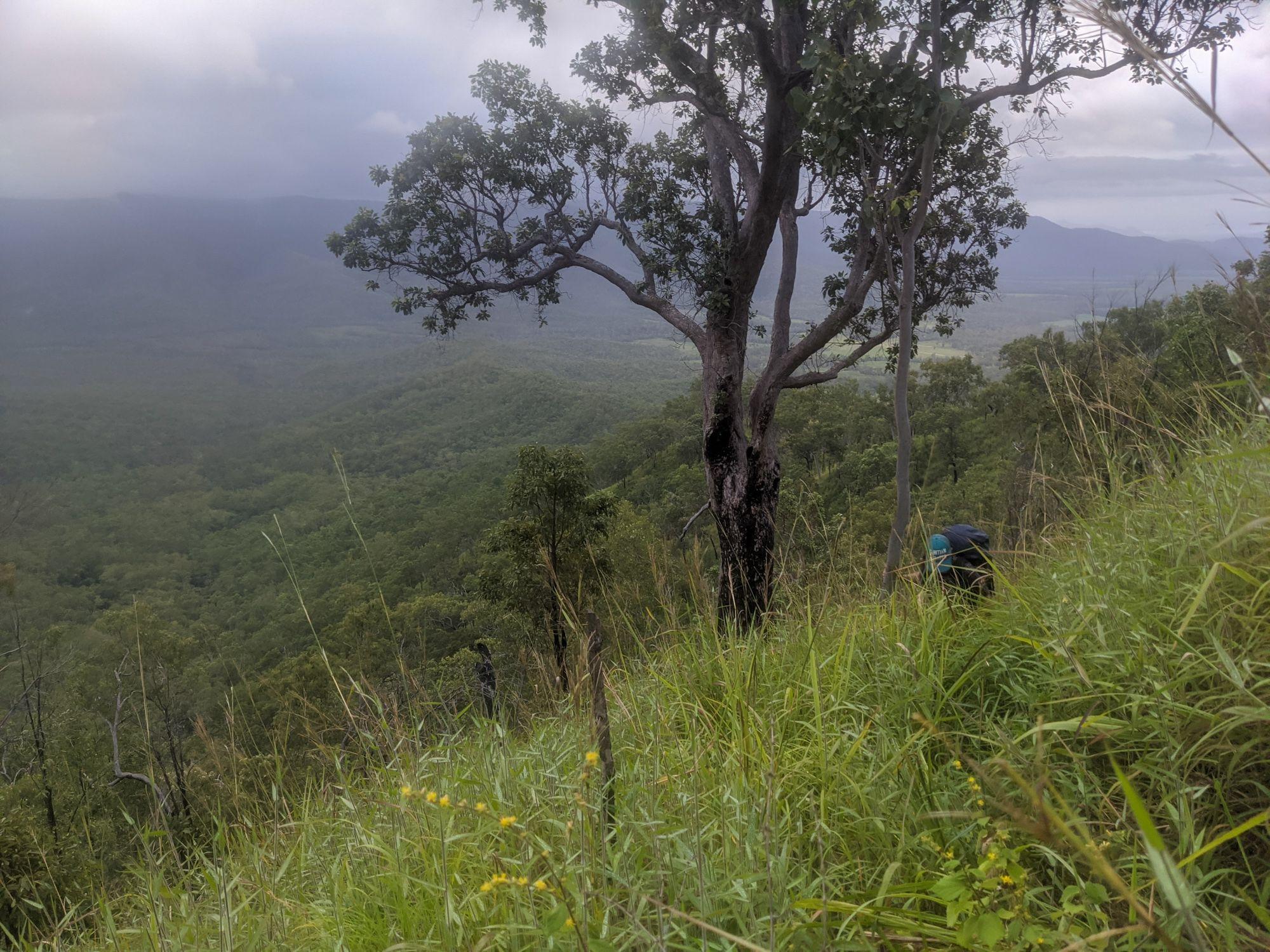disaster creek steep ridgeline