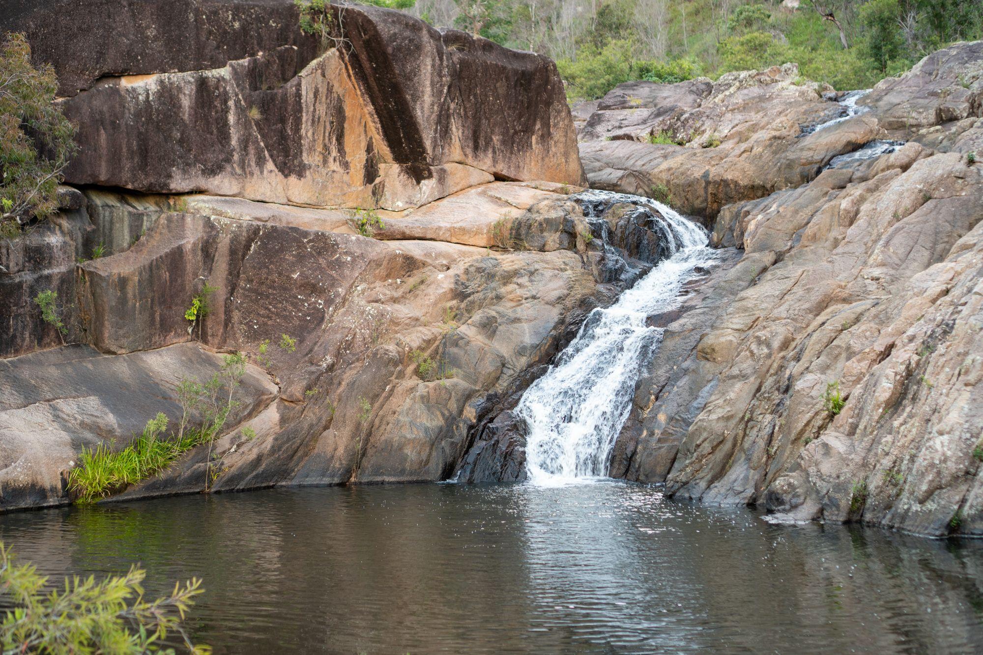 disaster creek stream cascade