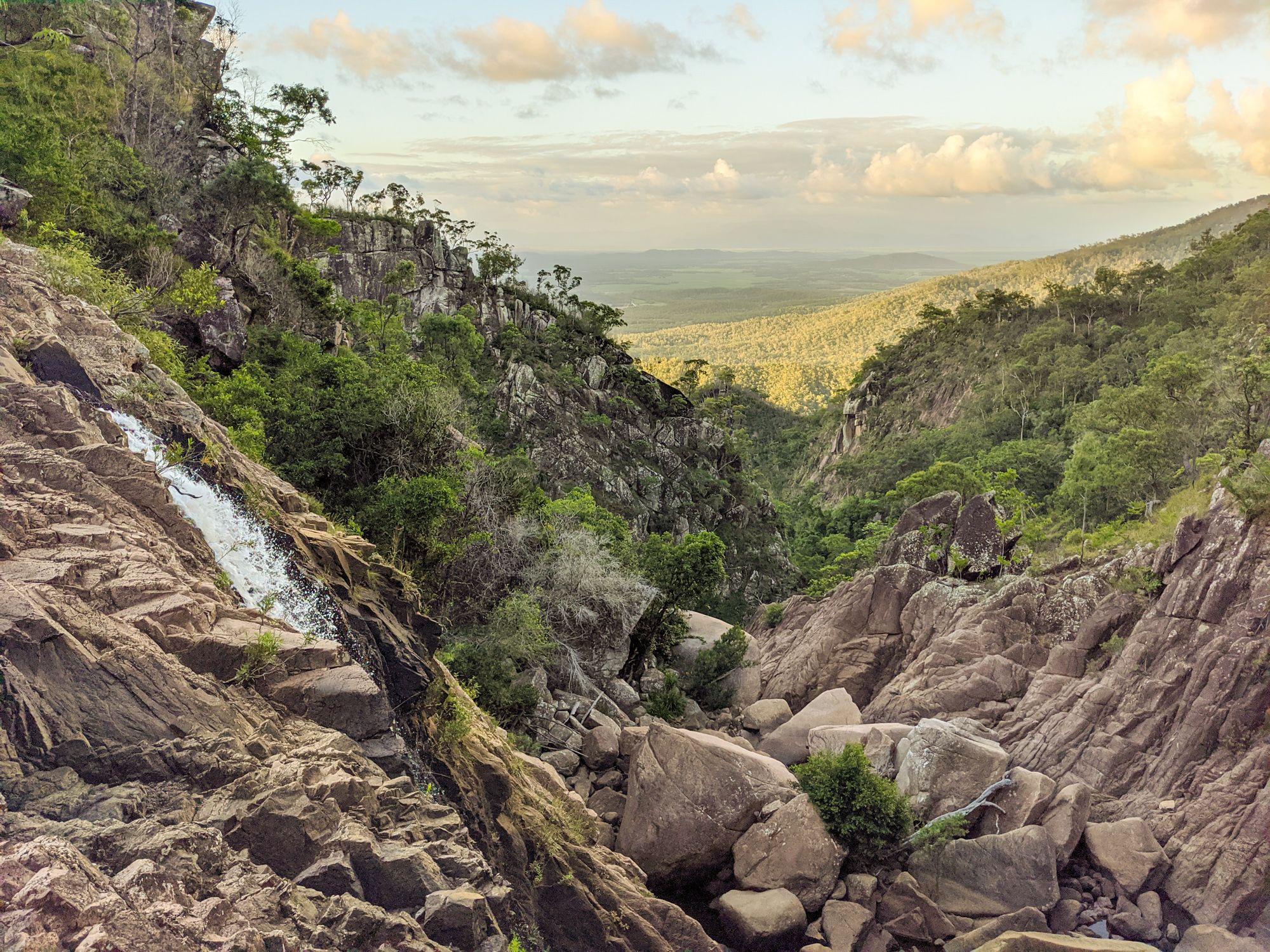 disaster creek top falls