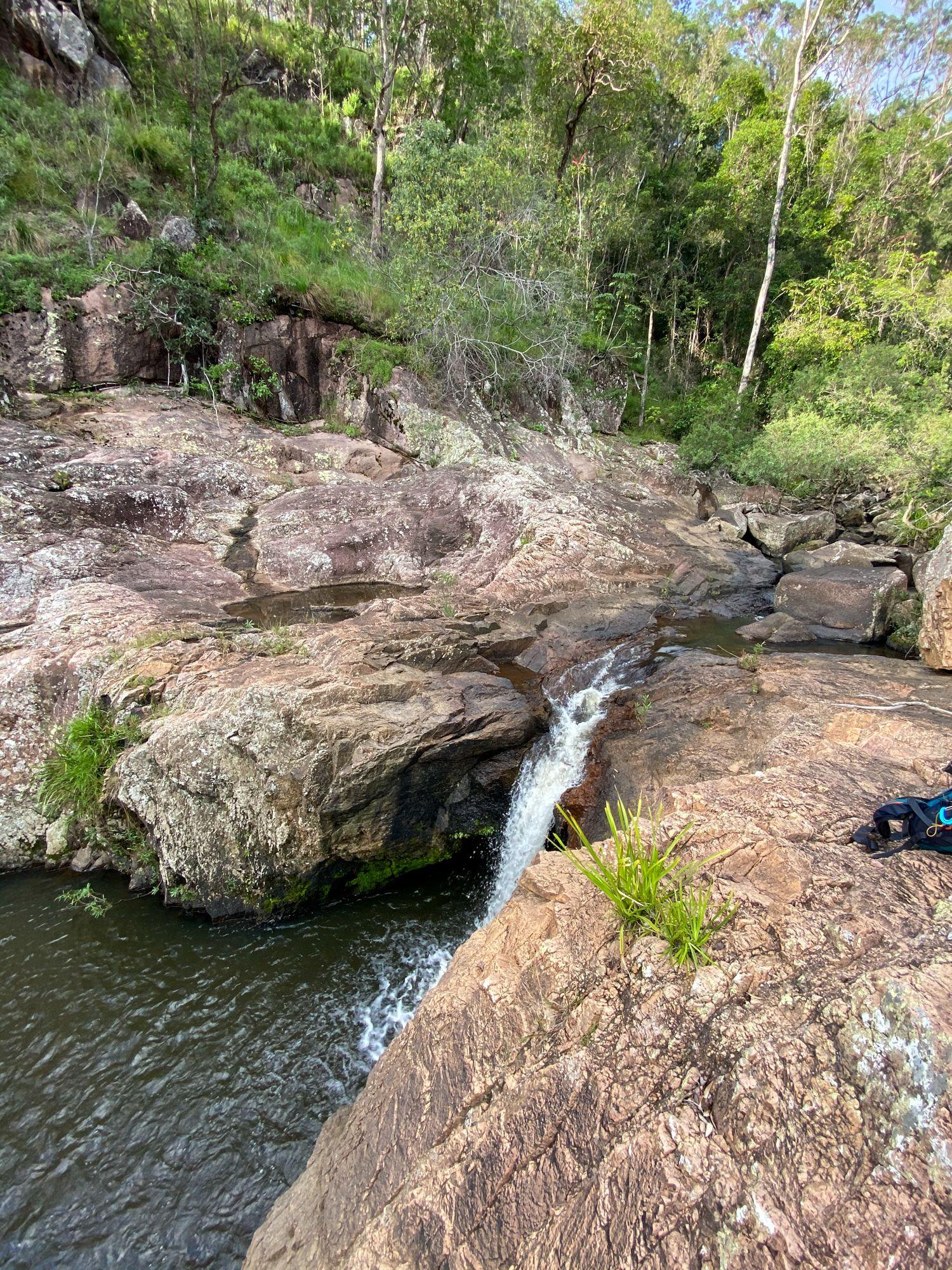 disaster creek waterfall cave