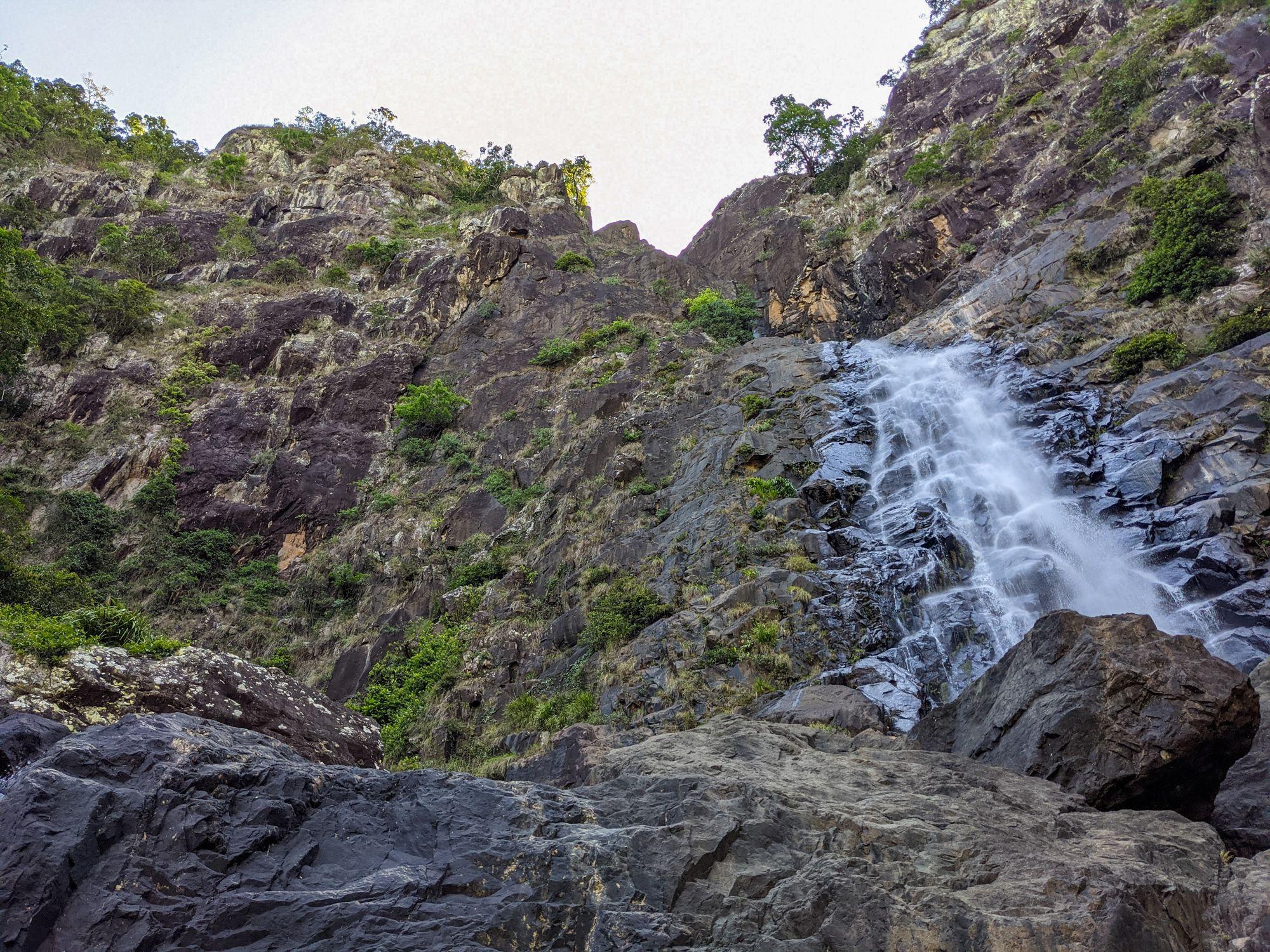 flagstone canyon bottom of falls