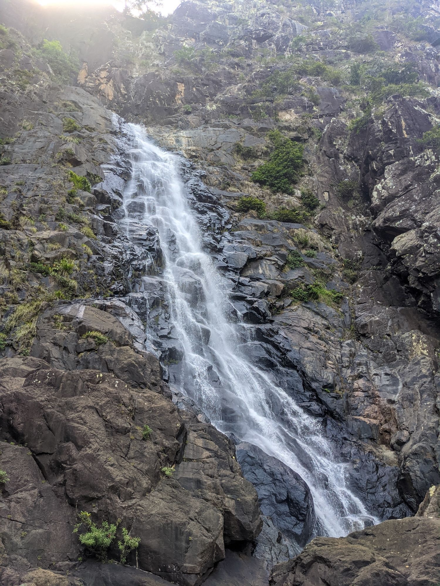 flagstone creek falls bottom